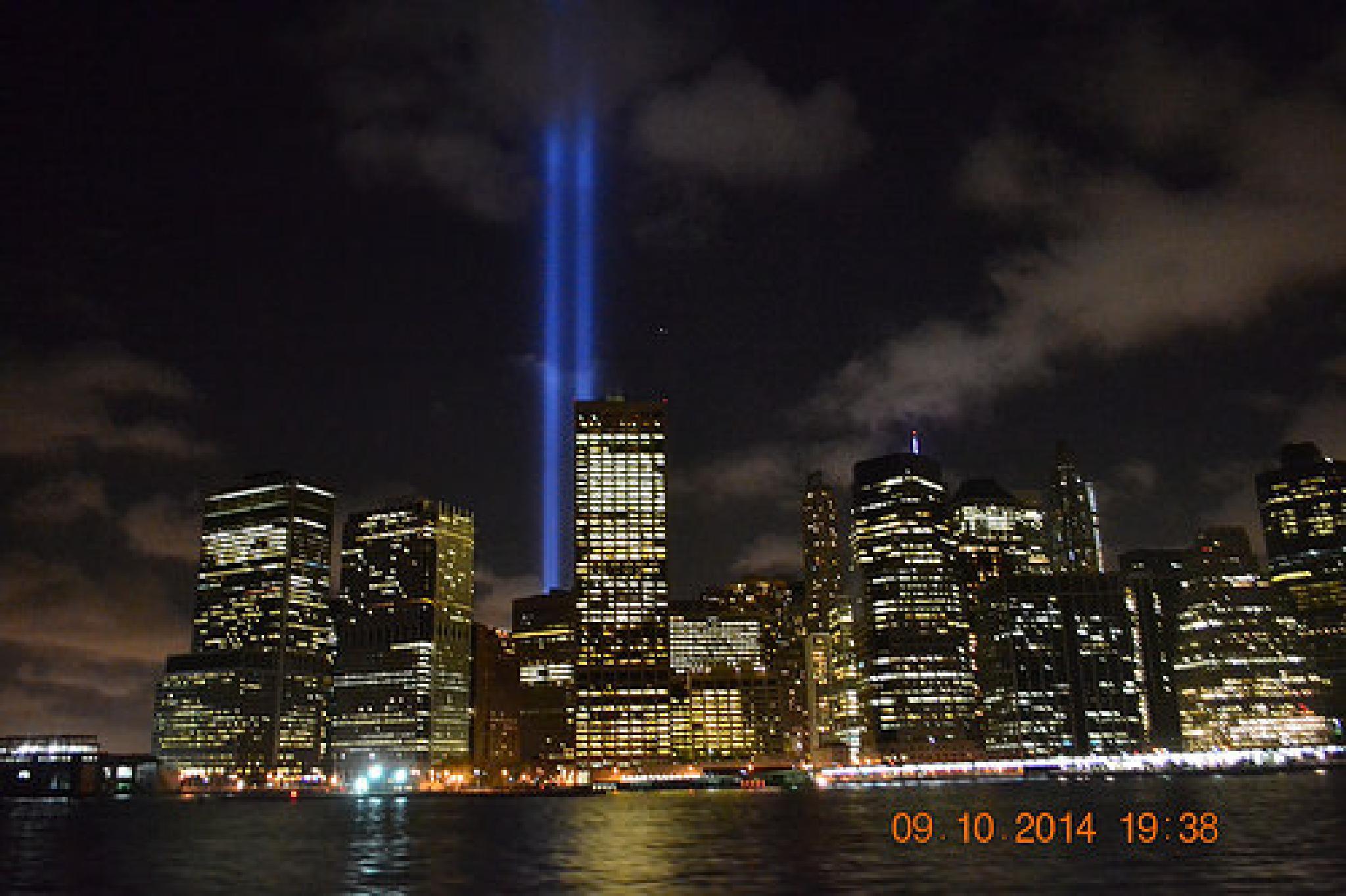Freedom lights NYC by kelli.oconnormays