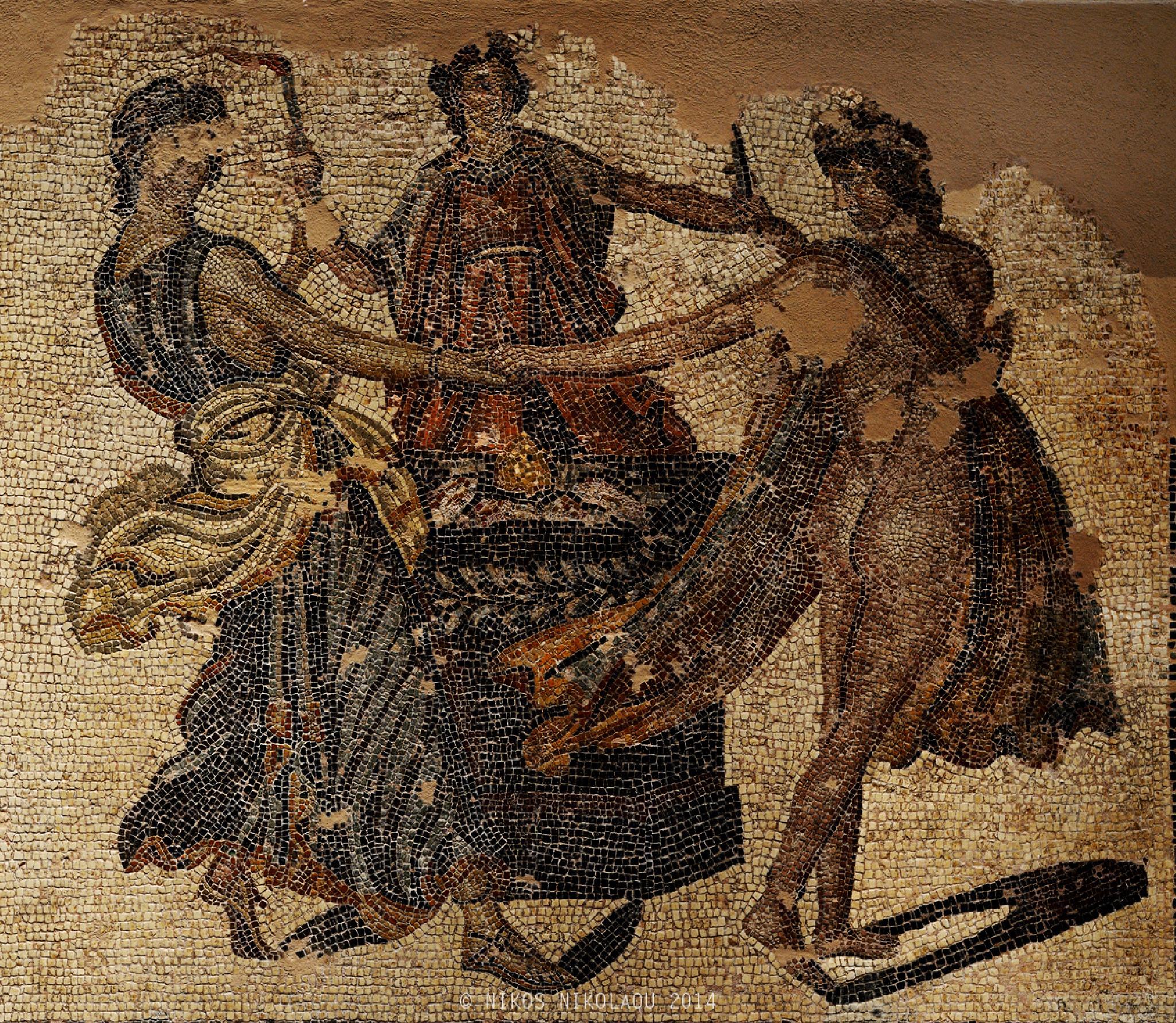 Mosaic floor. by nikos nikolaou