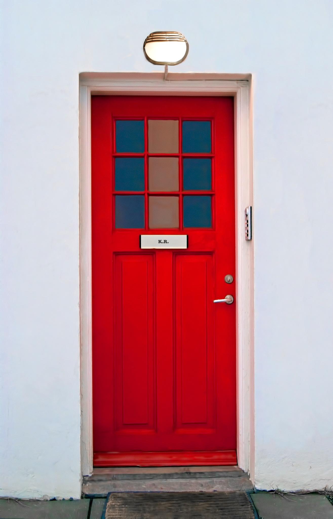 The Red Door. by Konrad Ragnarsson