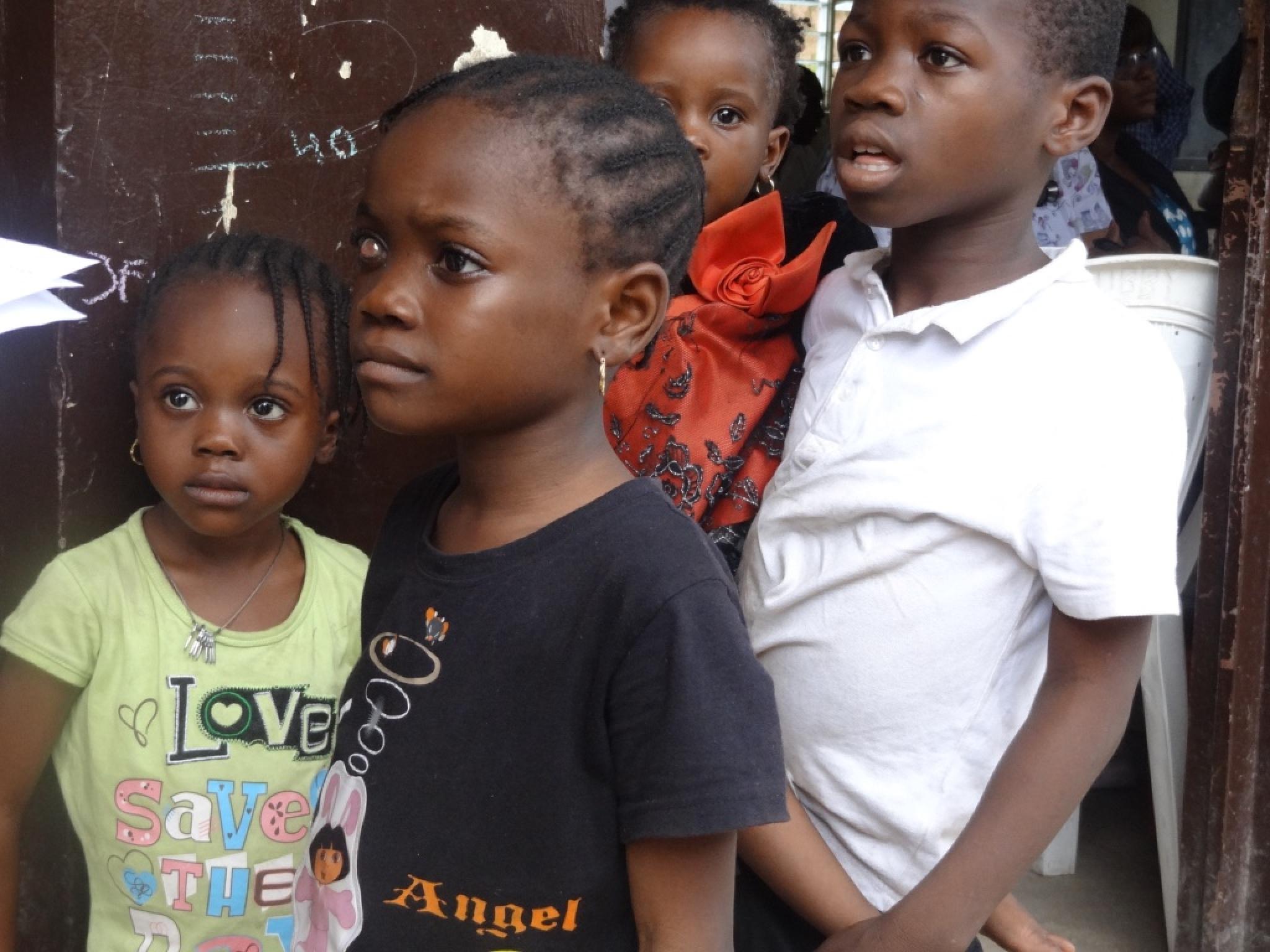 Children Makoko by samantha.jenkins.5030