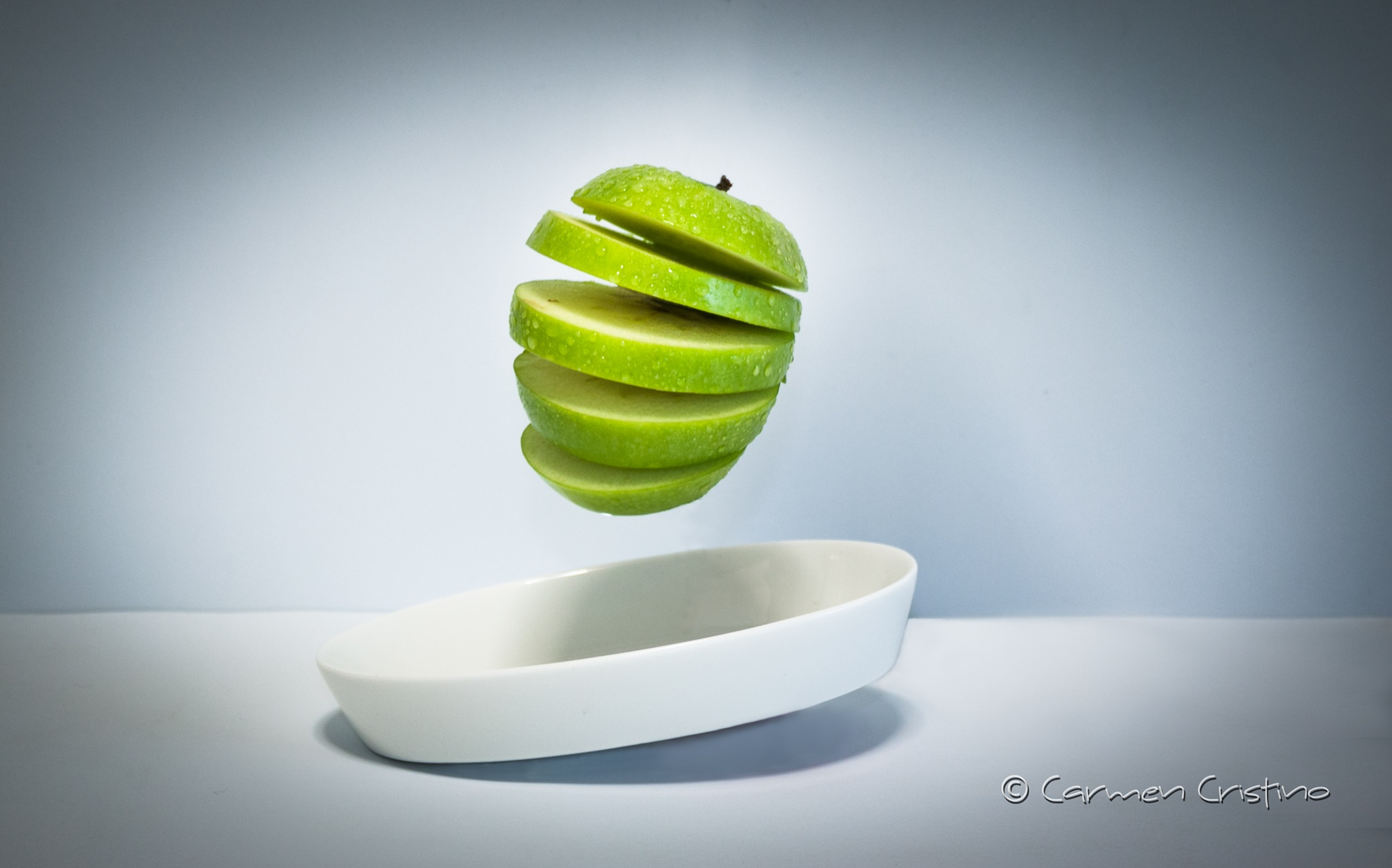 Green apple by carmen_cristino