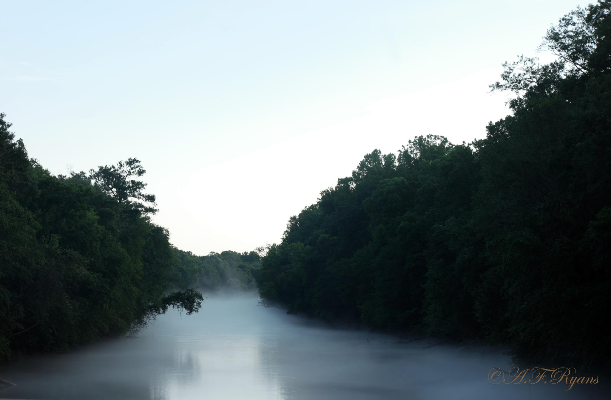 Chattahoochee River in the Morning by afryans