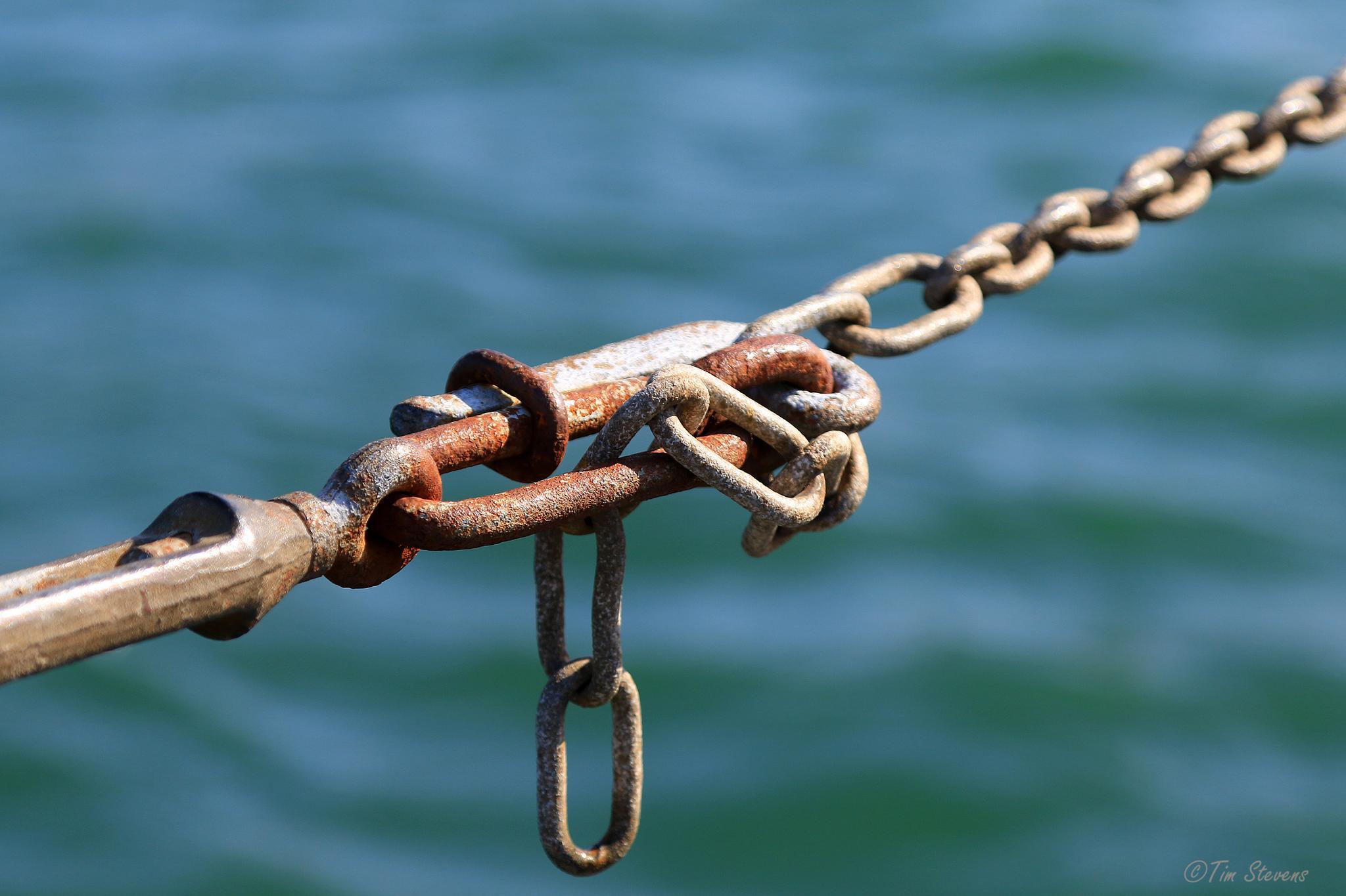 Chain Handrail by Tim Stevens