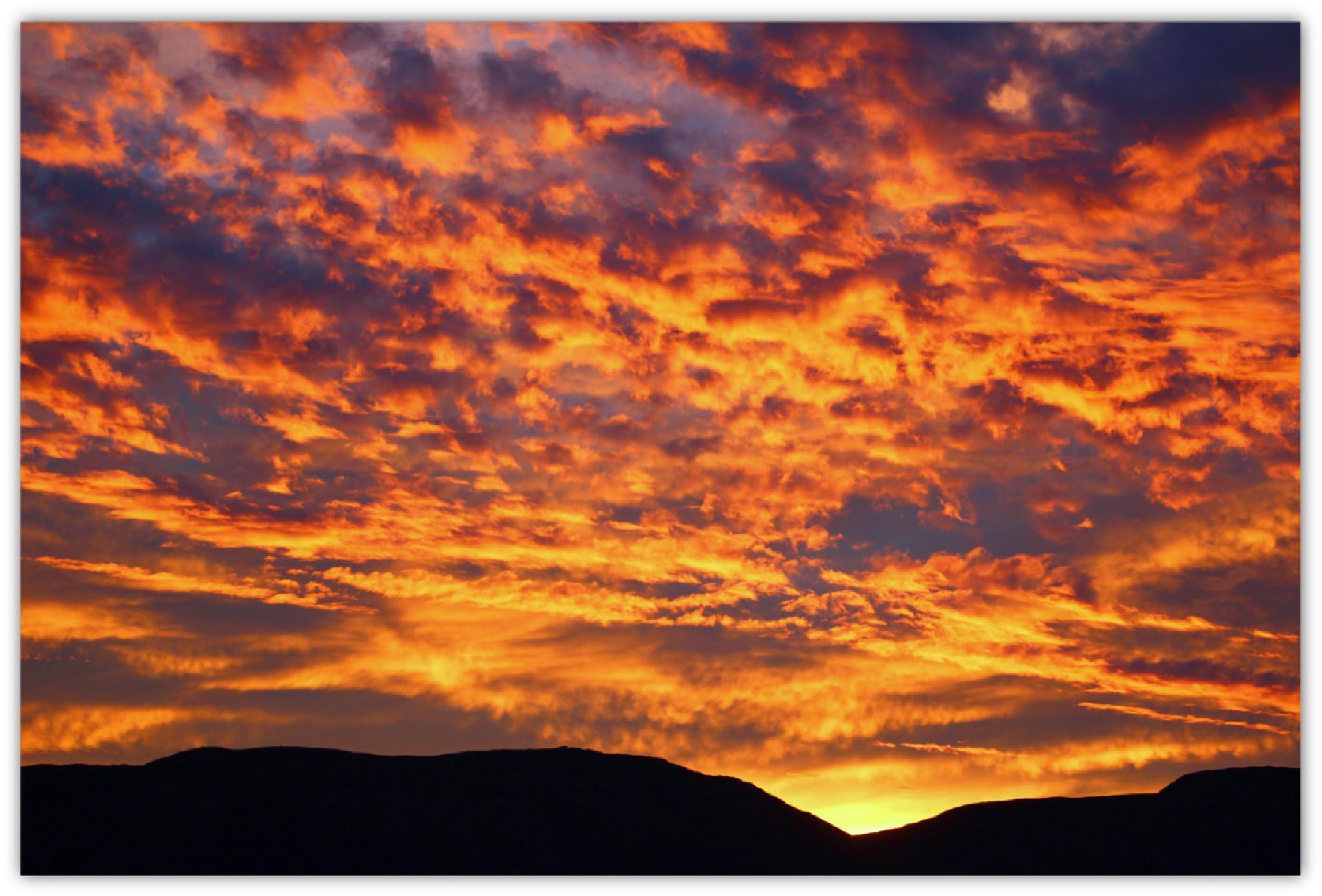 Clouds On Fire by tiffany186