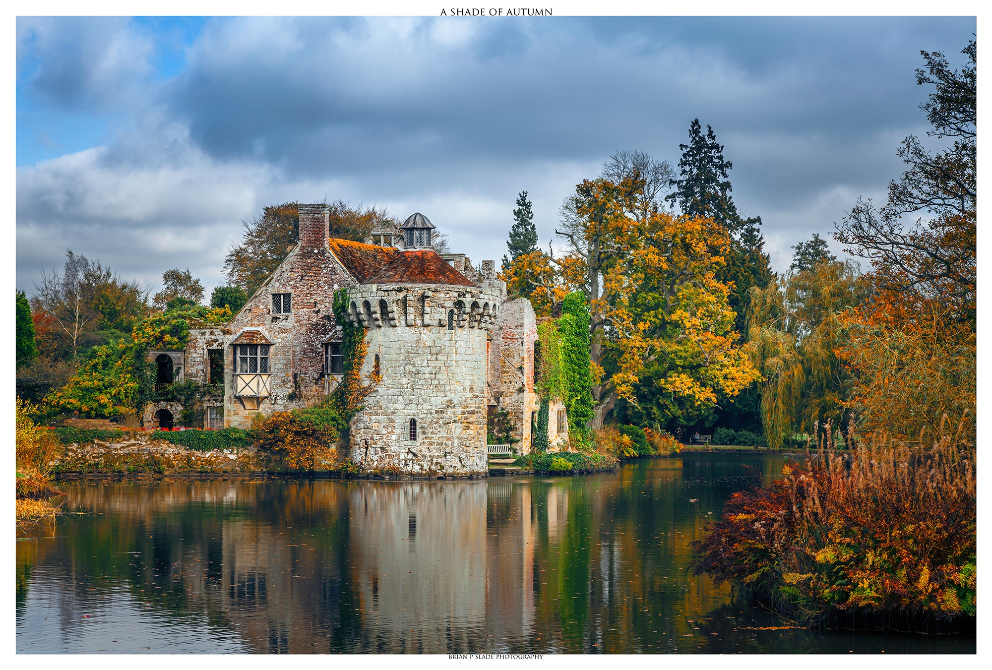 A Shade Of Autumn - Scotney Castle by BrianPSlade
