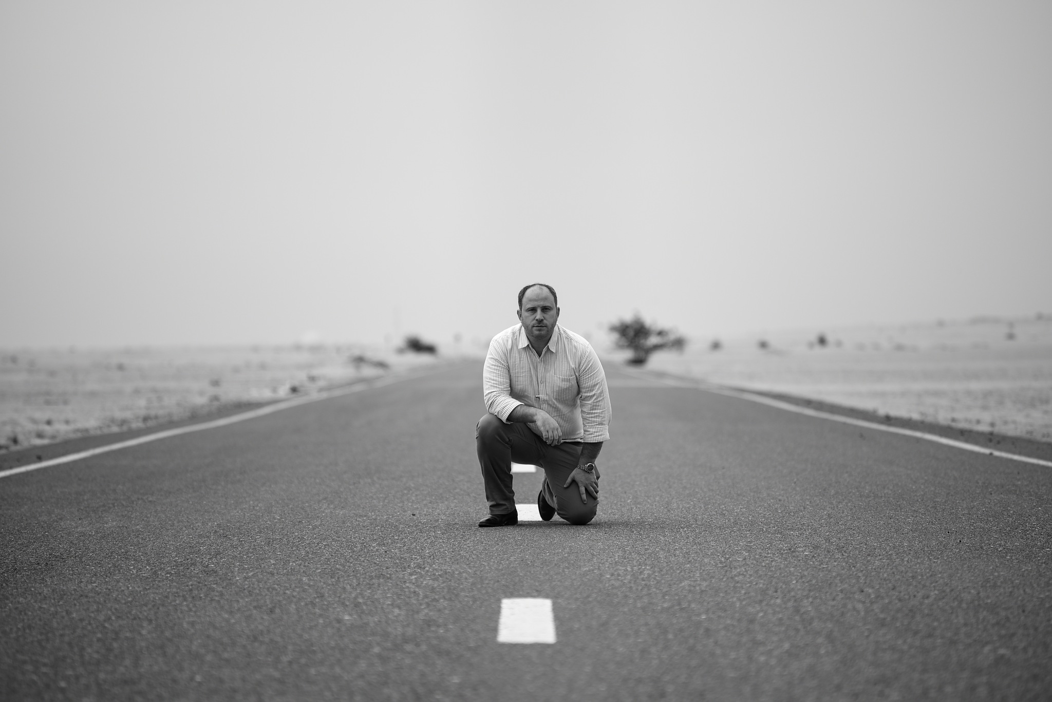 On The Road by Babar Swaleheen