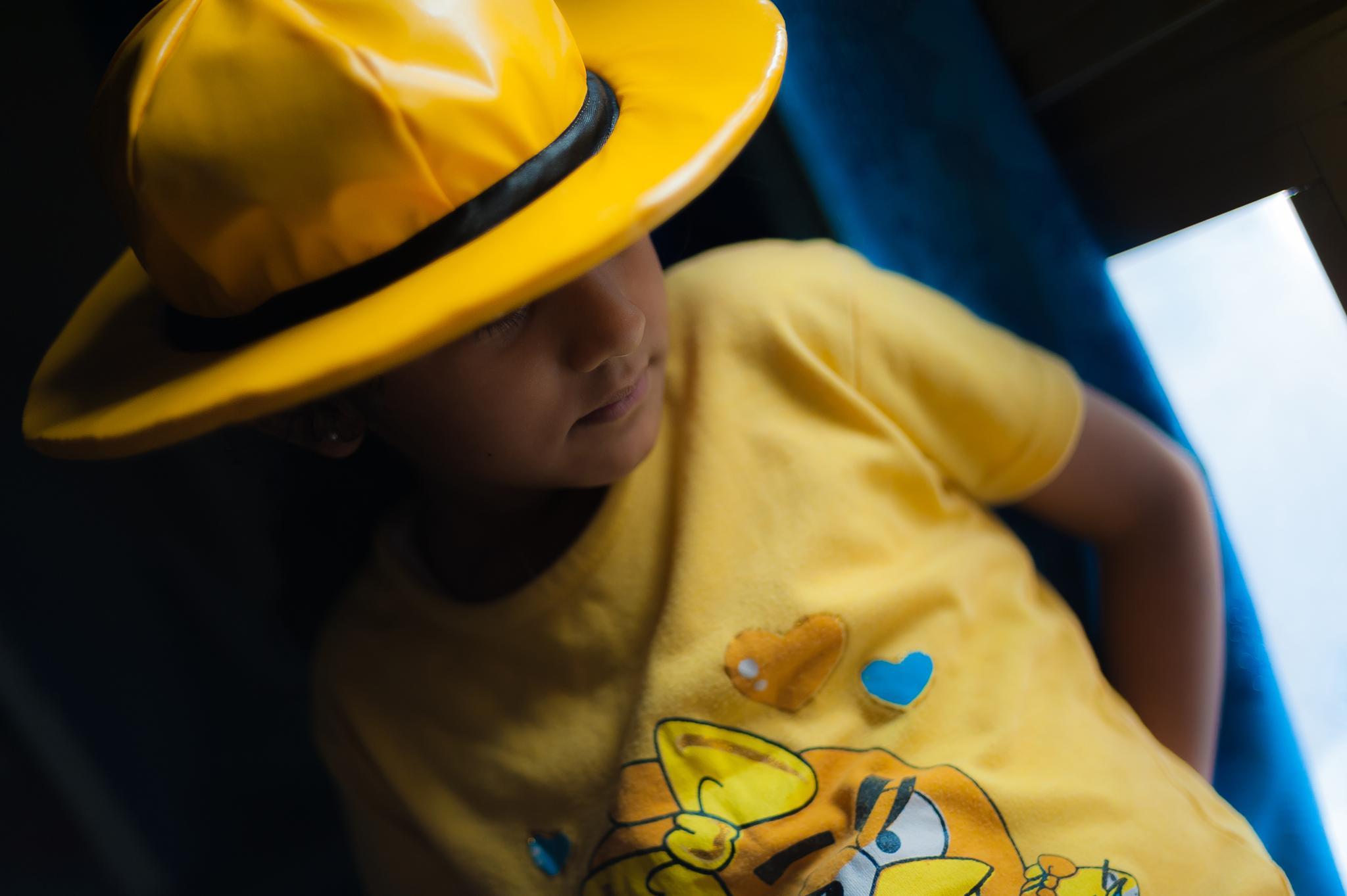 Little Miss Yellow  by Babar Swaleheen