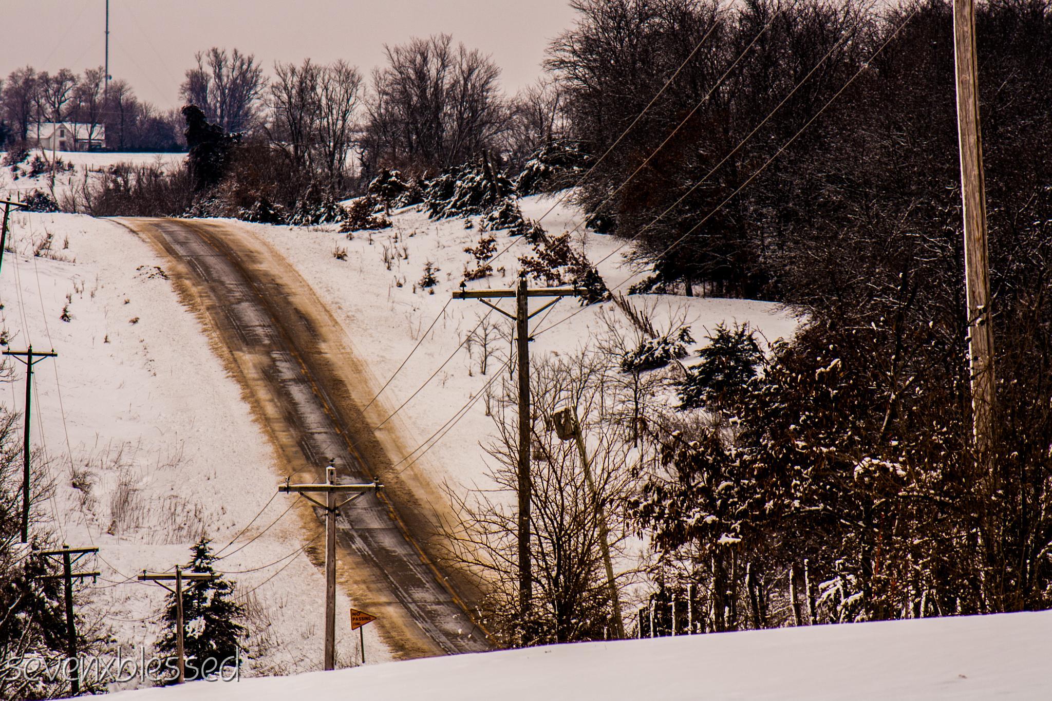 Iowa winter by Michelle Danker