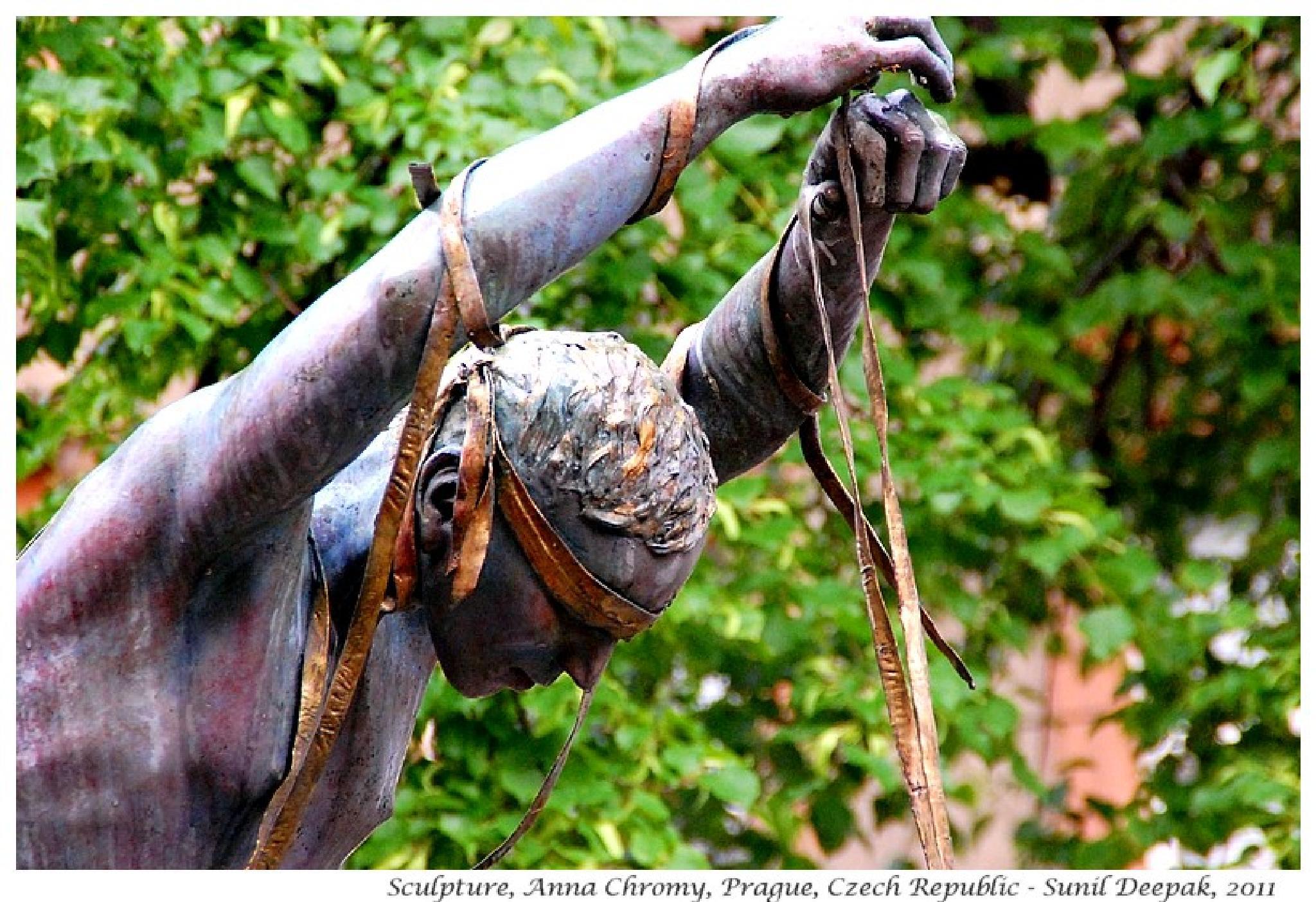 Ribbon dancer by Dr Sunil Deepak