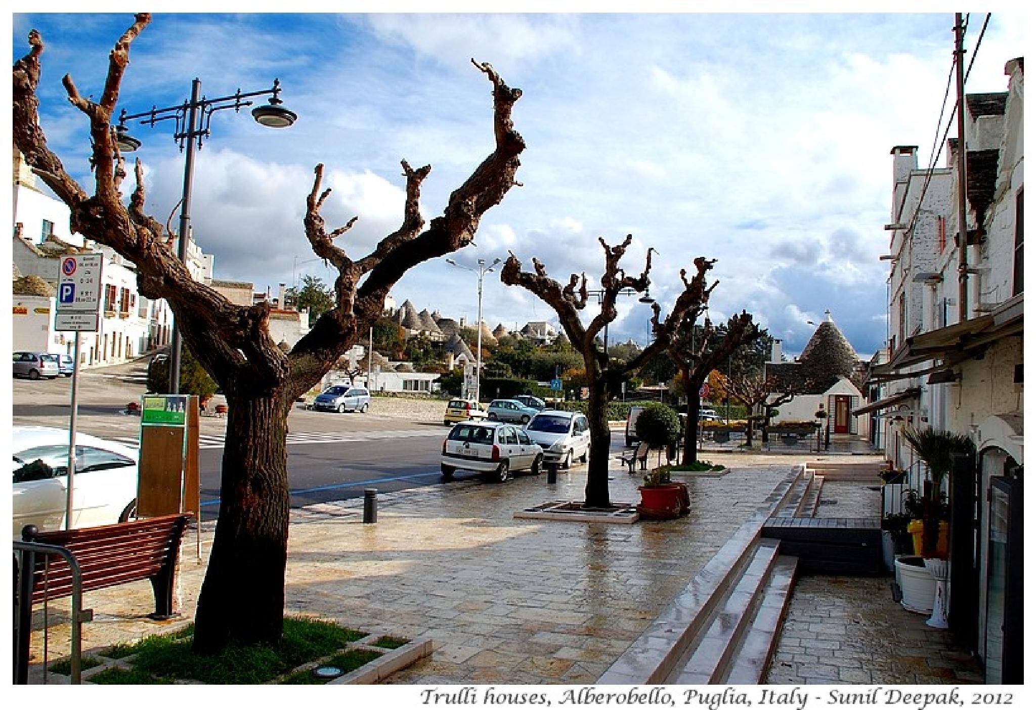 A street of Alberobello by Dr Sunil Deepak