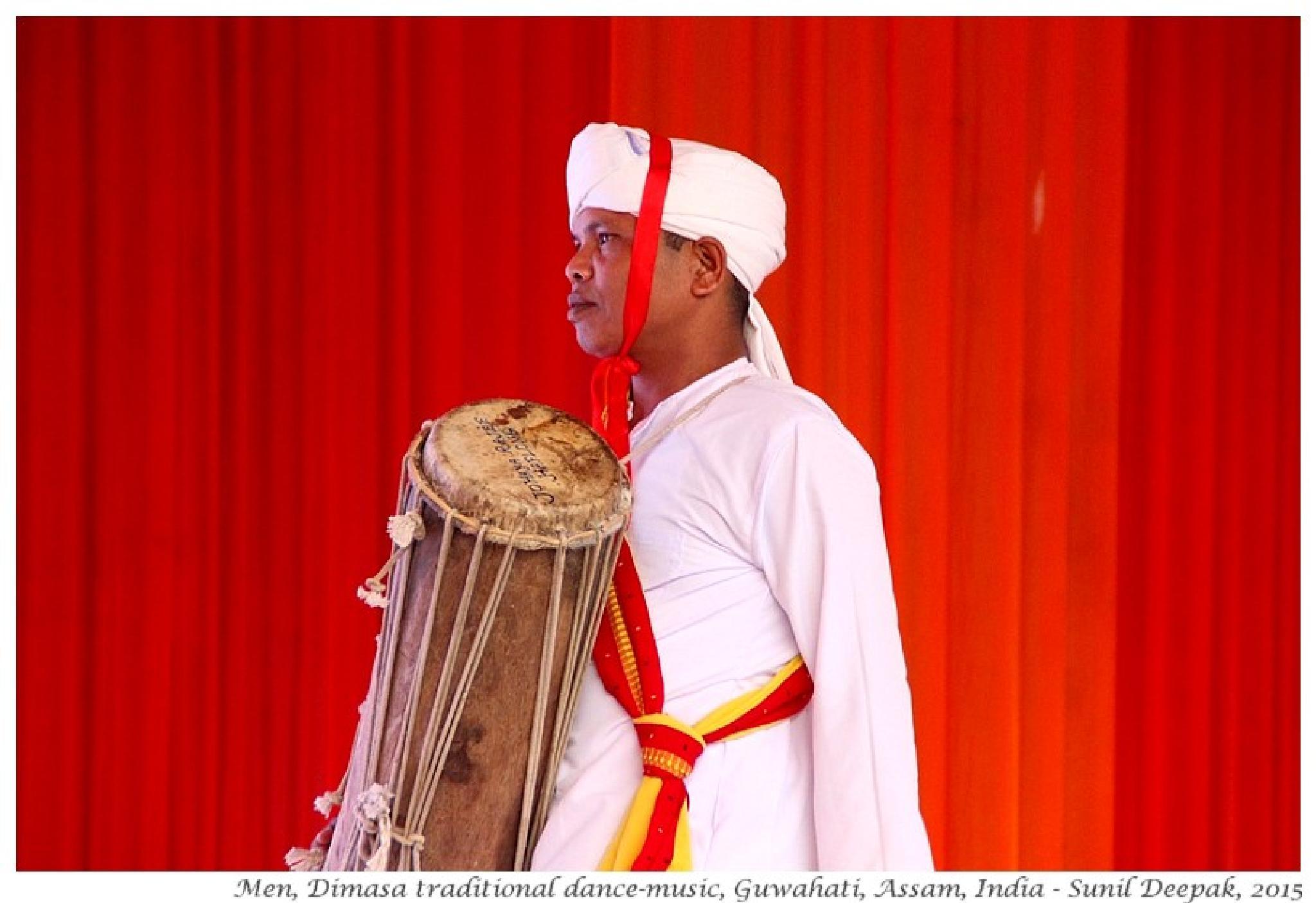 Dimasi drummer by Dr Sunil Deepak