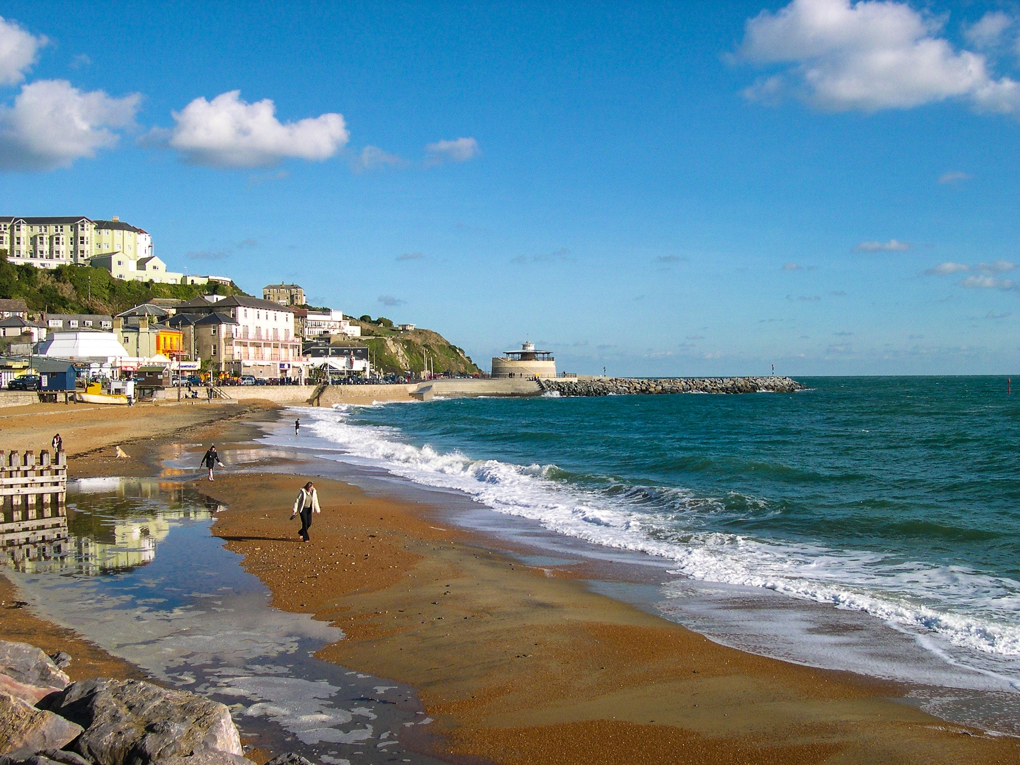 Ventnor Winter Sun by Slimboyfat