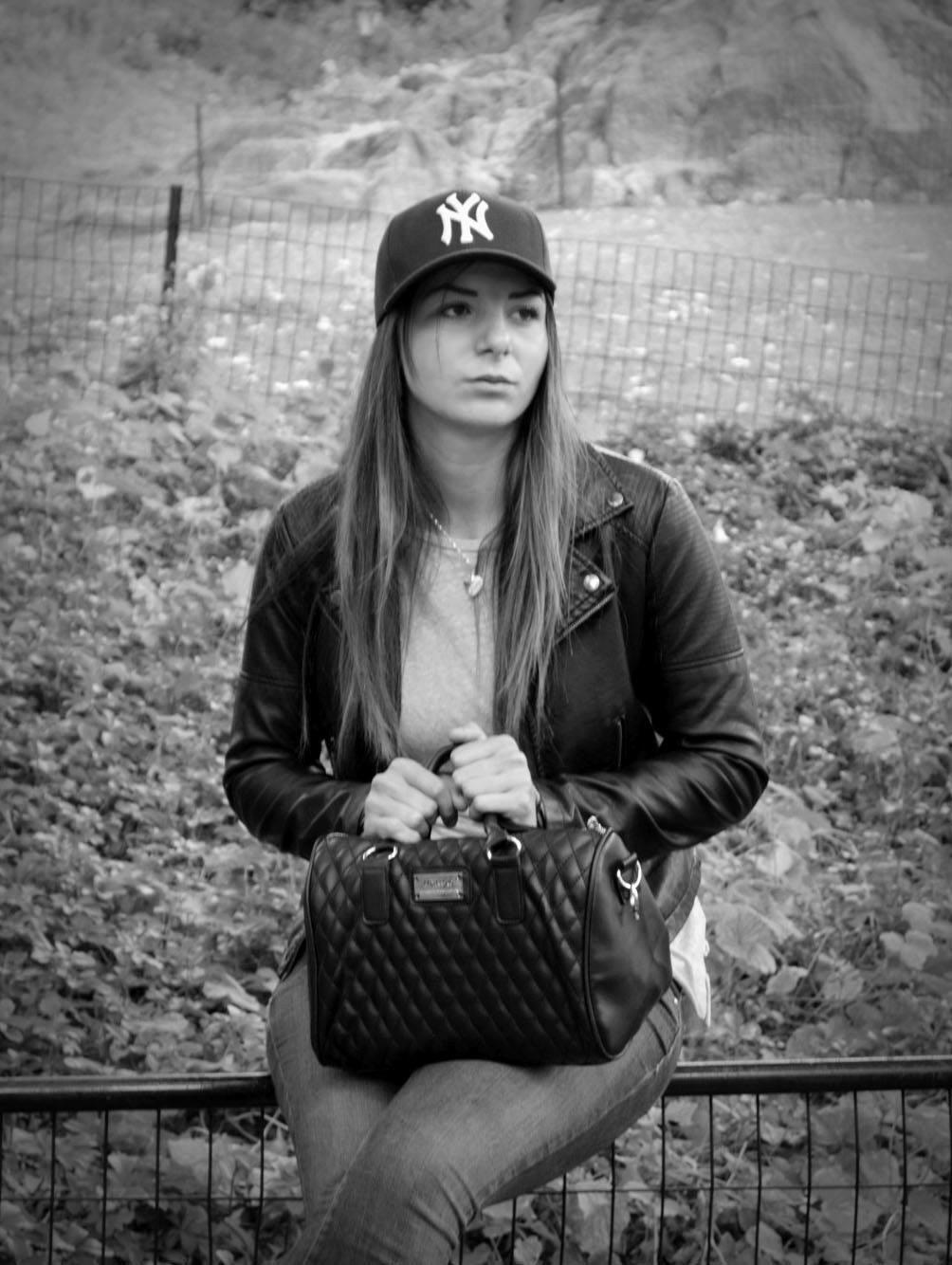 Lonely girl in the park by janaivanova88
