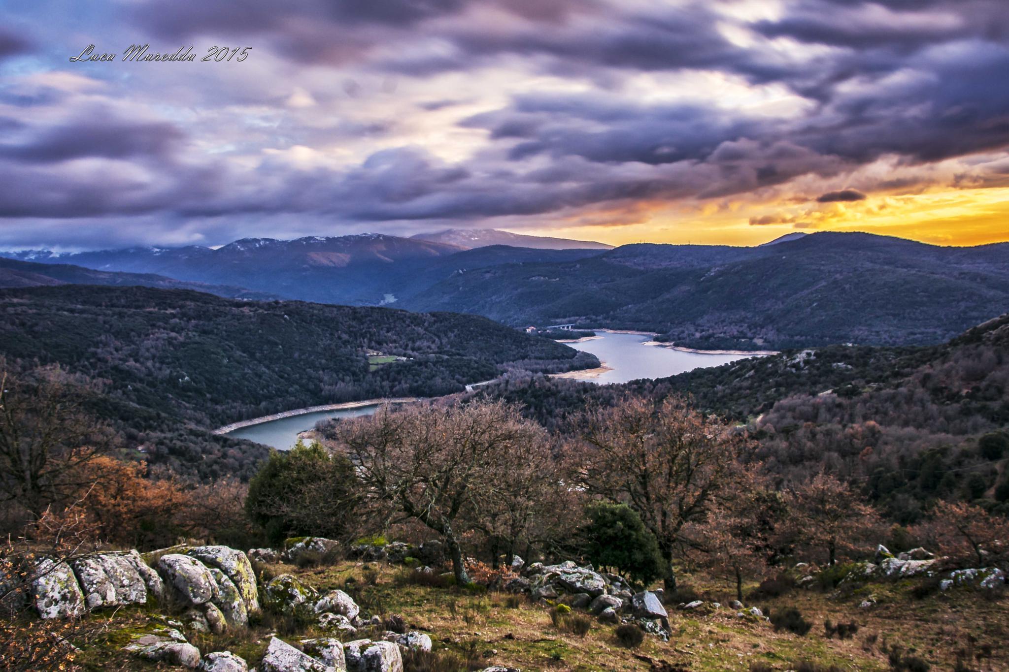 Sardigna . Lago di Gusana by dorycy