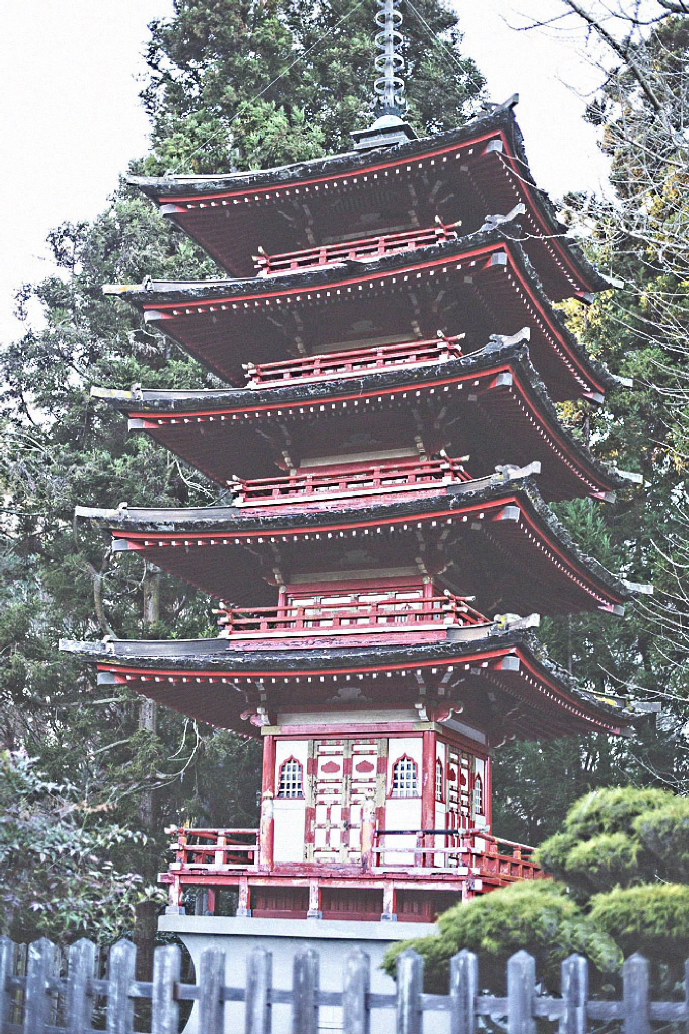Japanese Temple  by DinhTuanVan