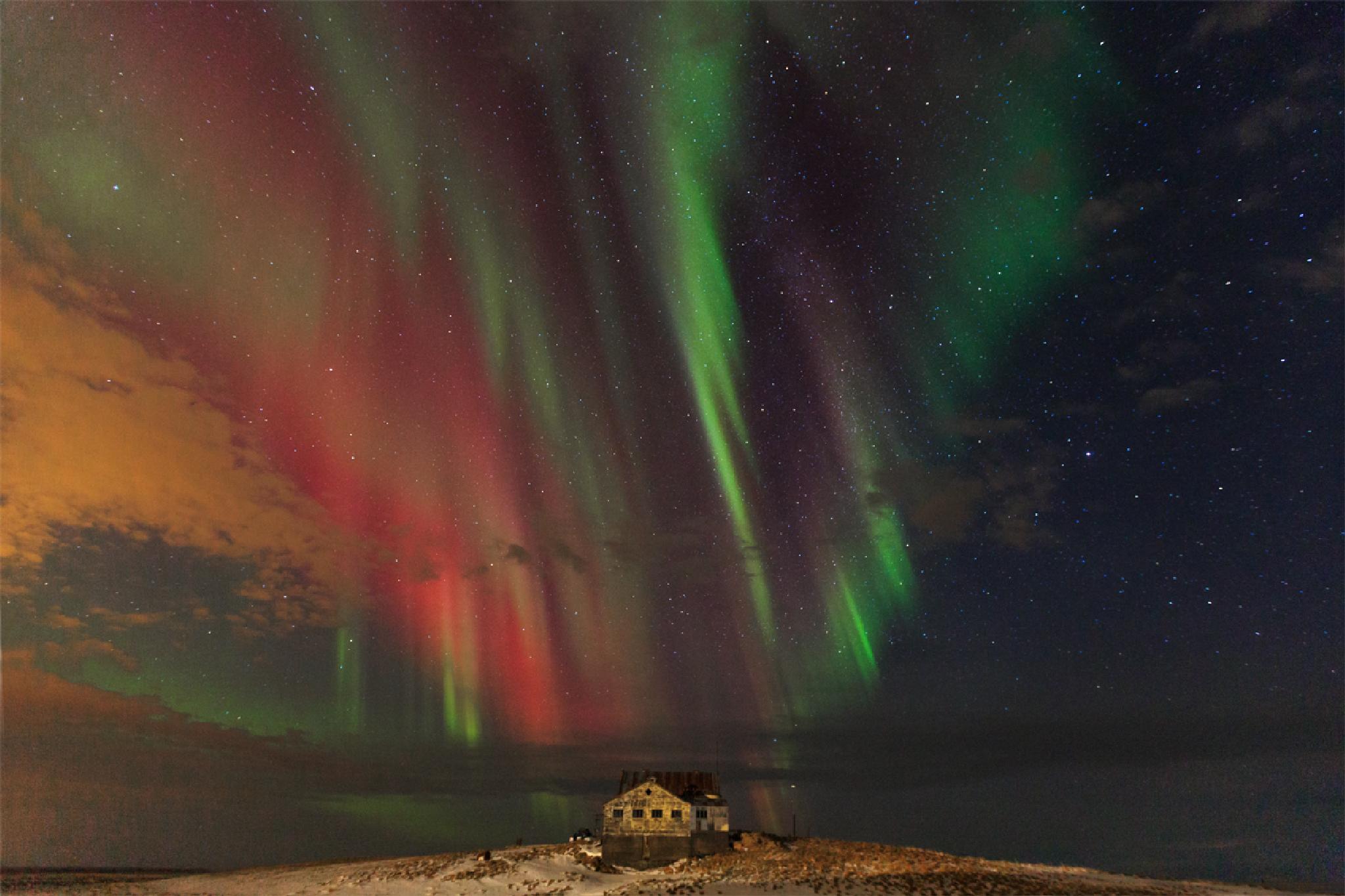 Abandoned farm house in Iceland by Jon Runar Hilmarsson