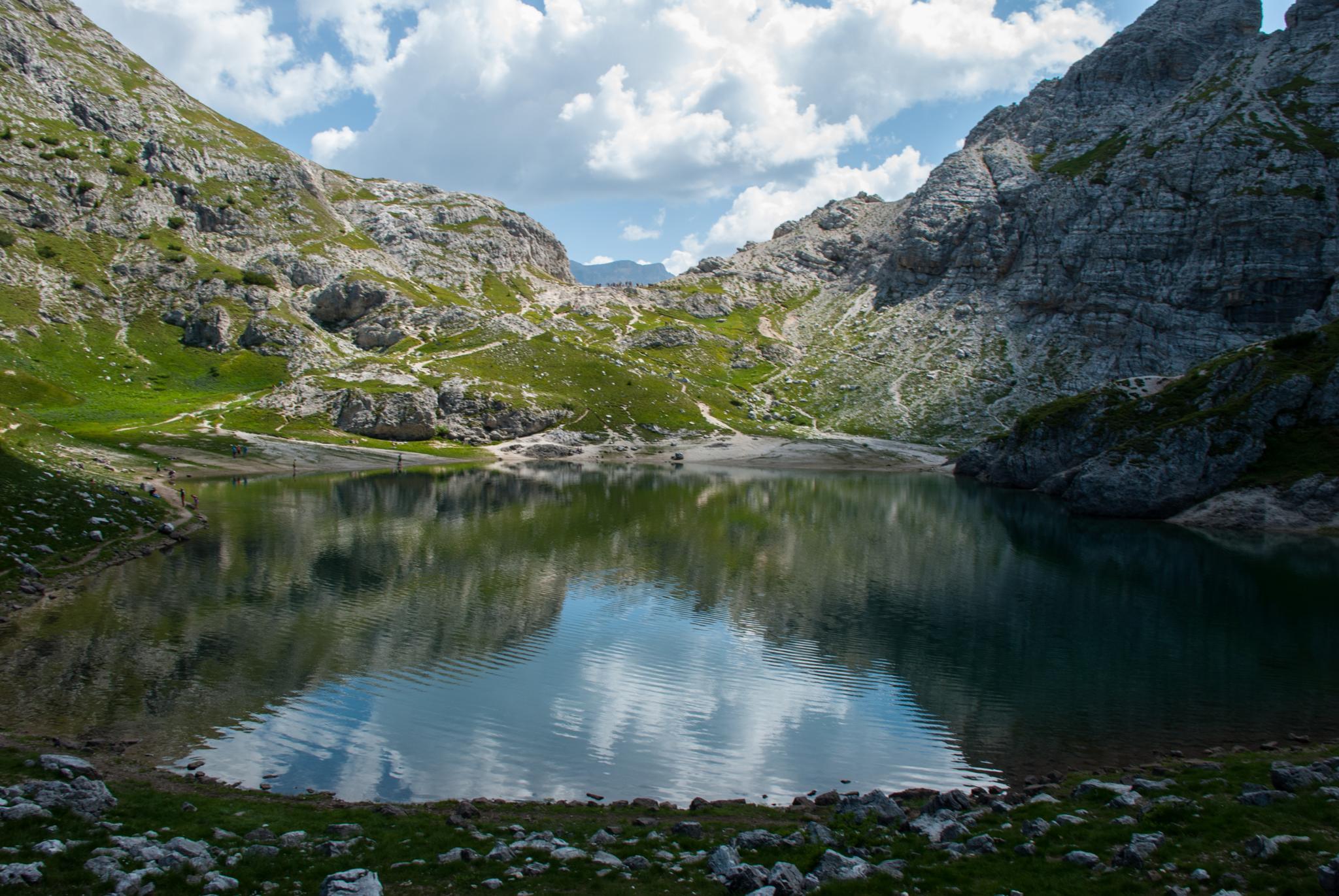 Lago Coldai by Matteo Gasparin