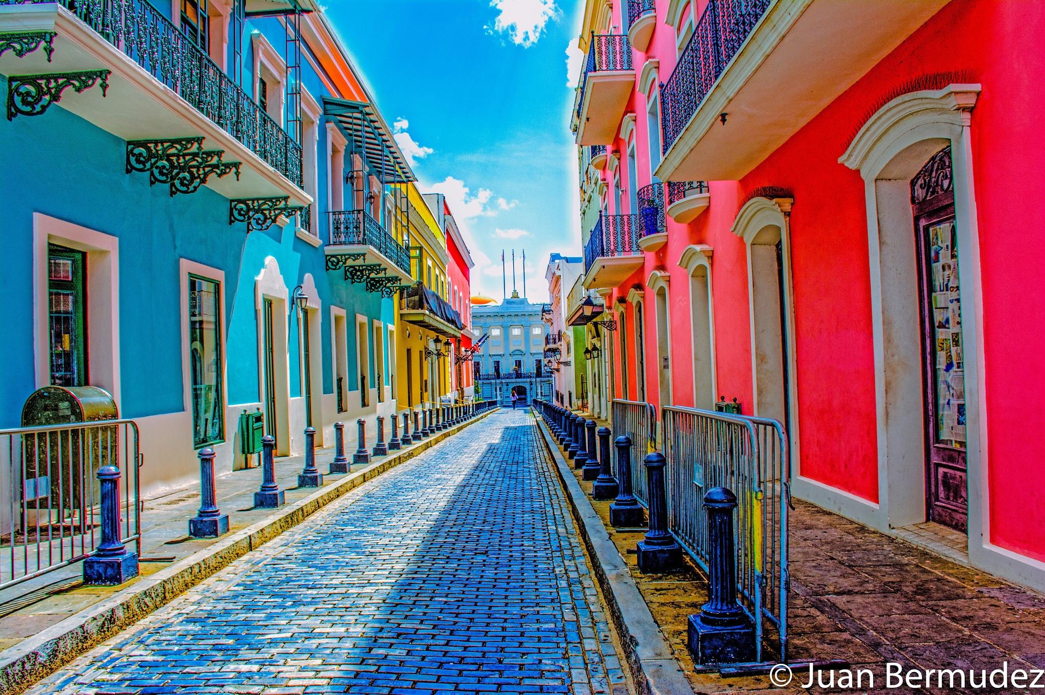 Old San Juan by Juan Bermudez