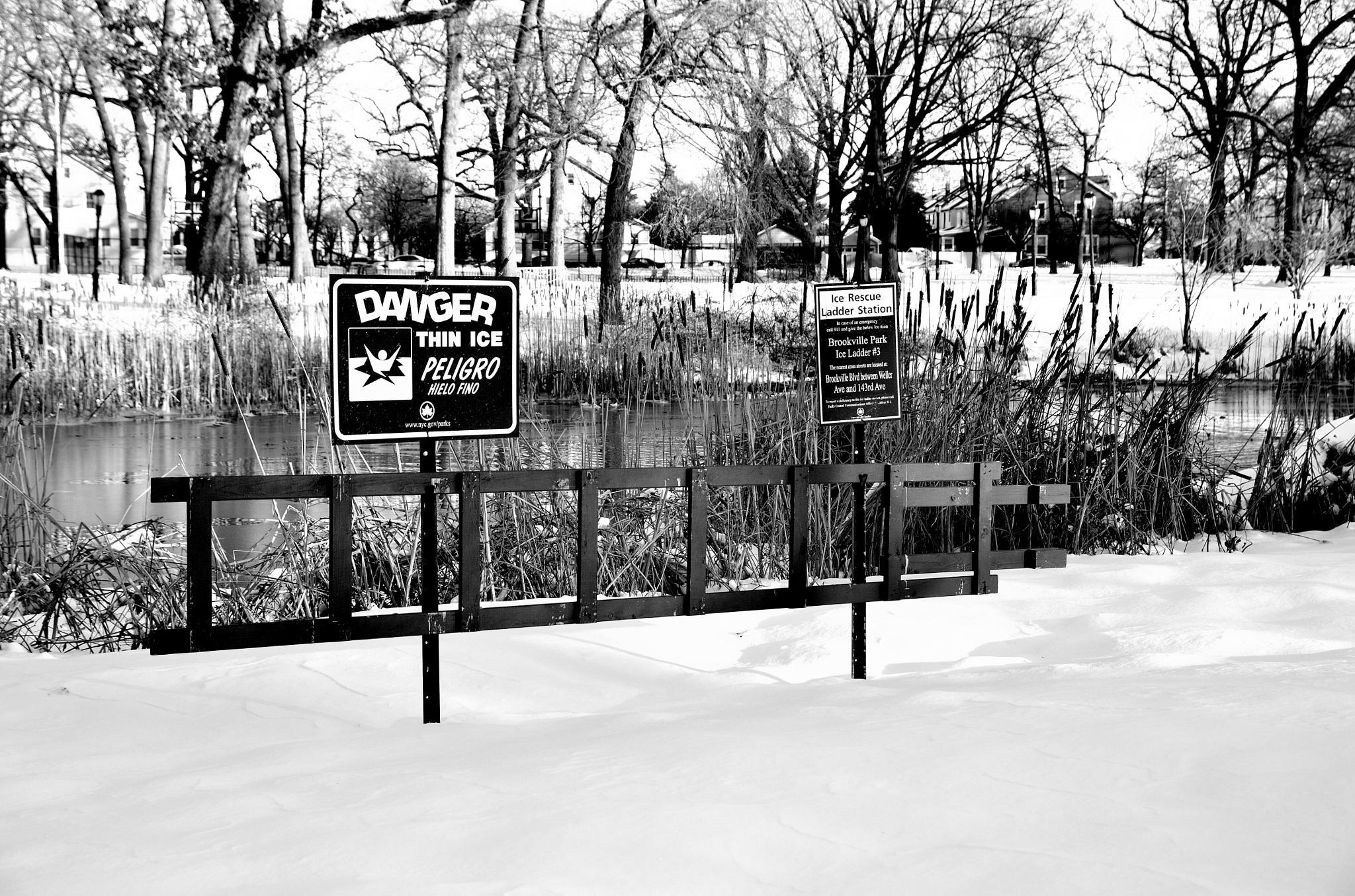 frozen pond by Etonam