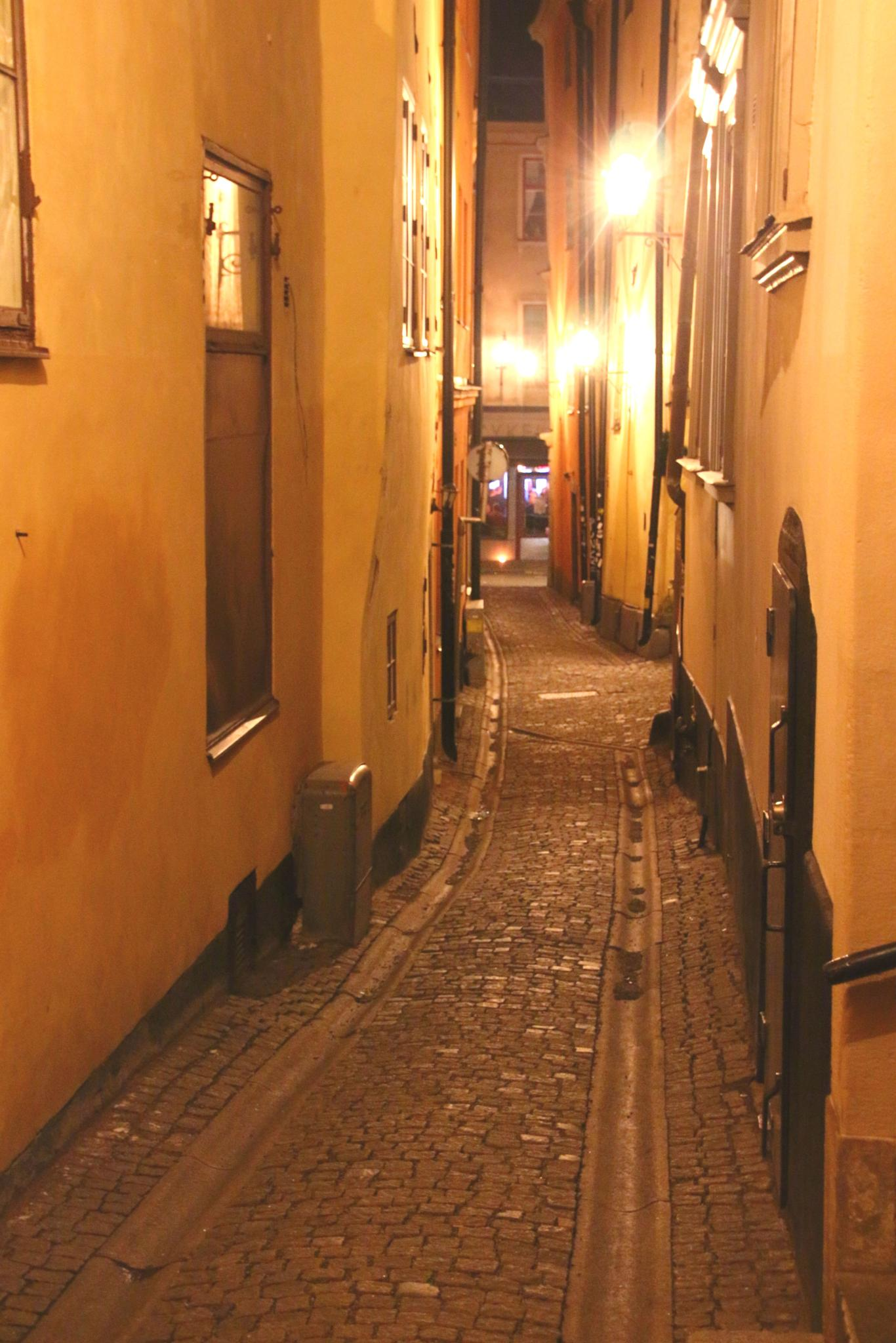 Old town in stockholm by inge.braberg
