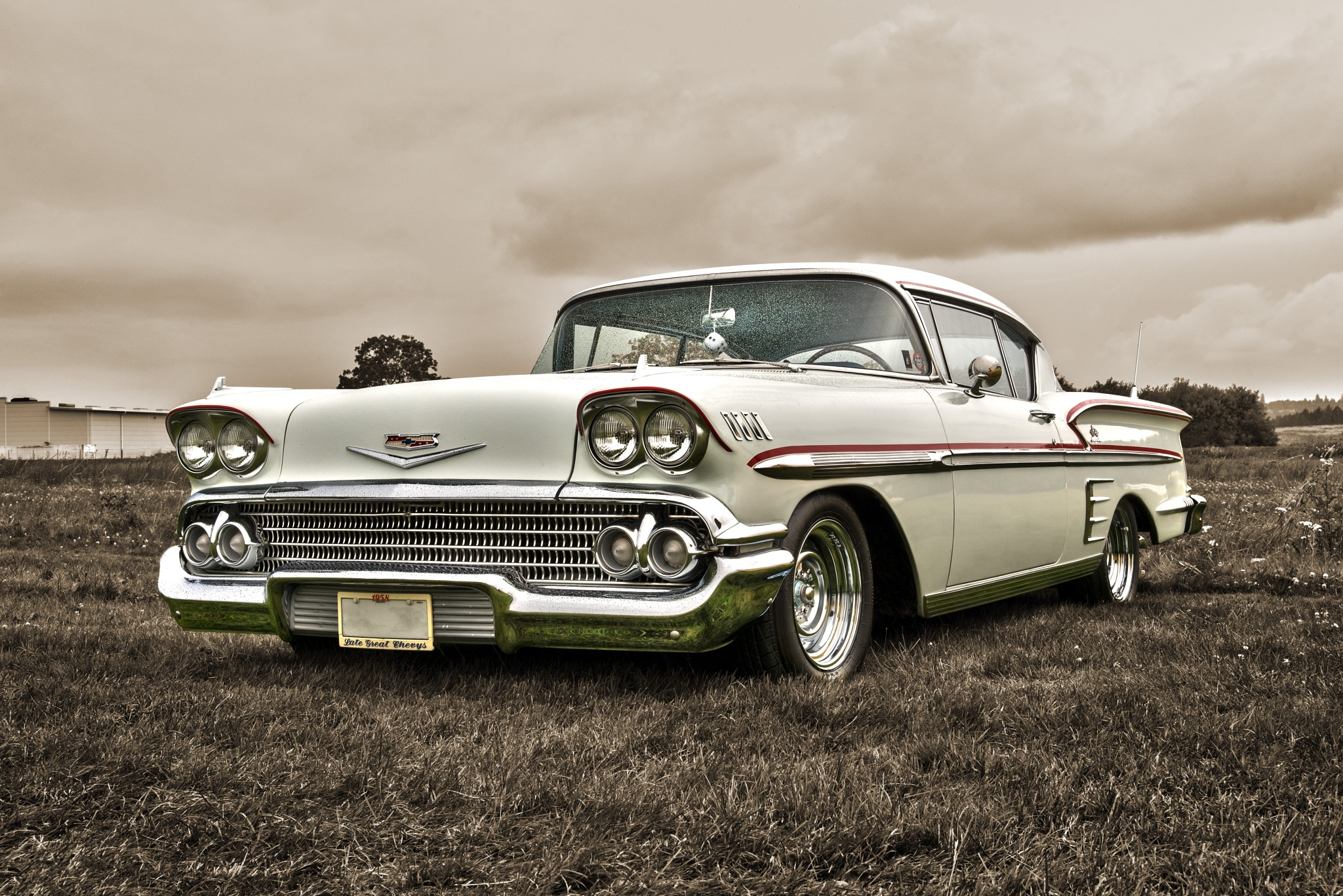 Chevrolet Impala - Sepia by Linda Persson