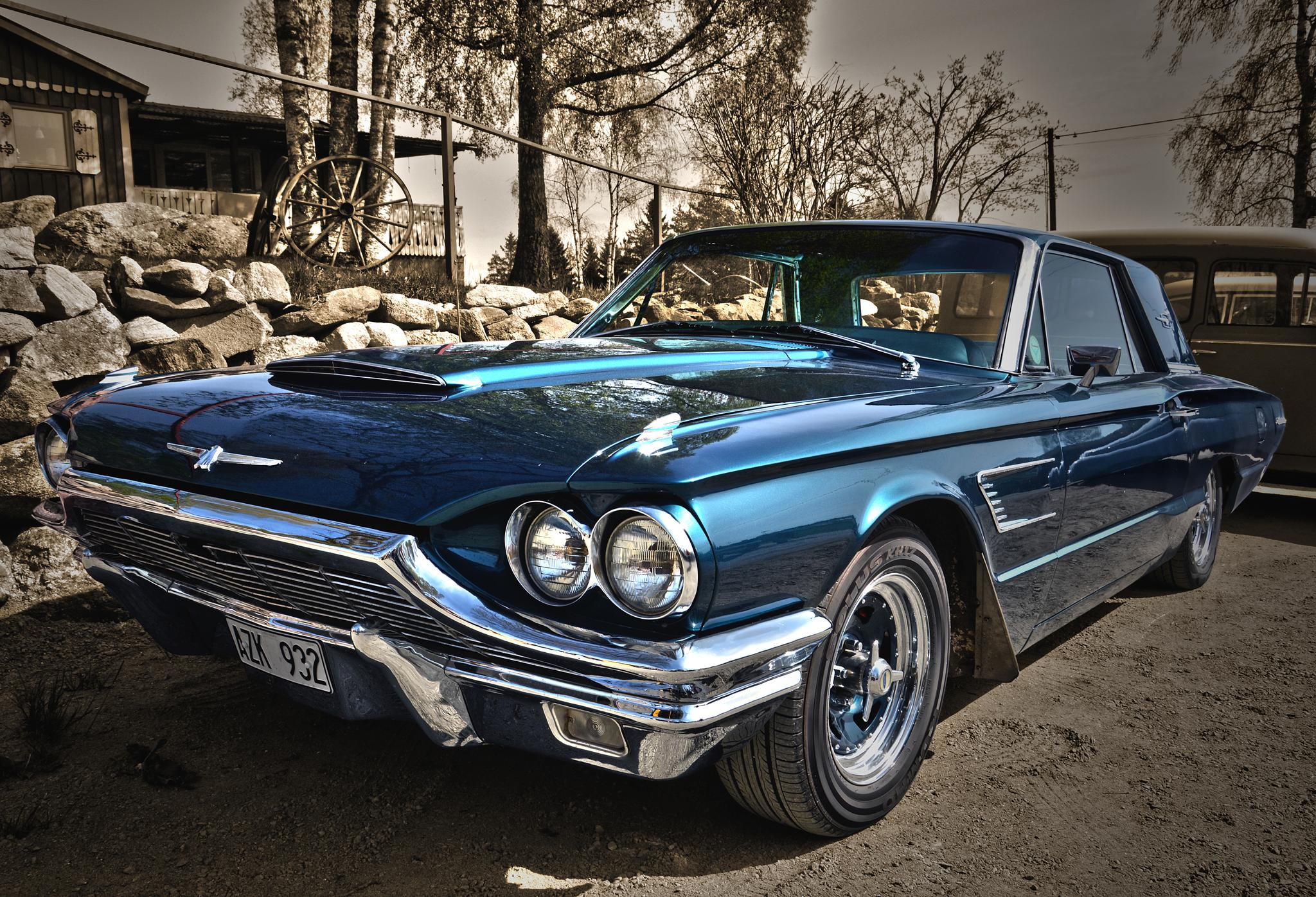1965 Ford Thunderbird by Linda Persson