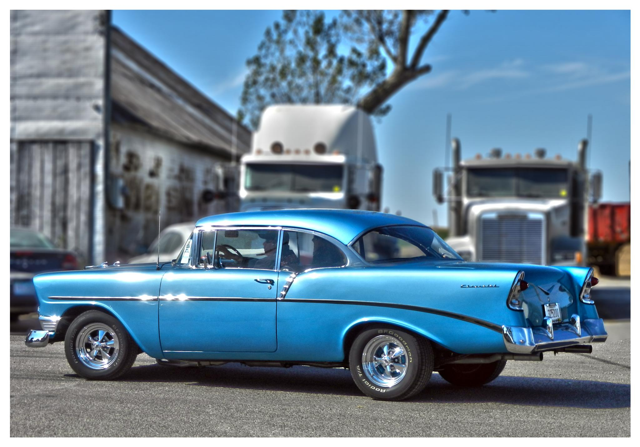 Blue Chevrolet by Linda Persson