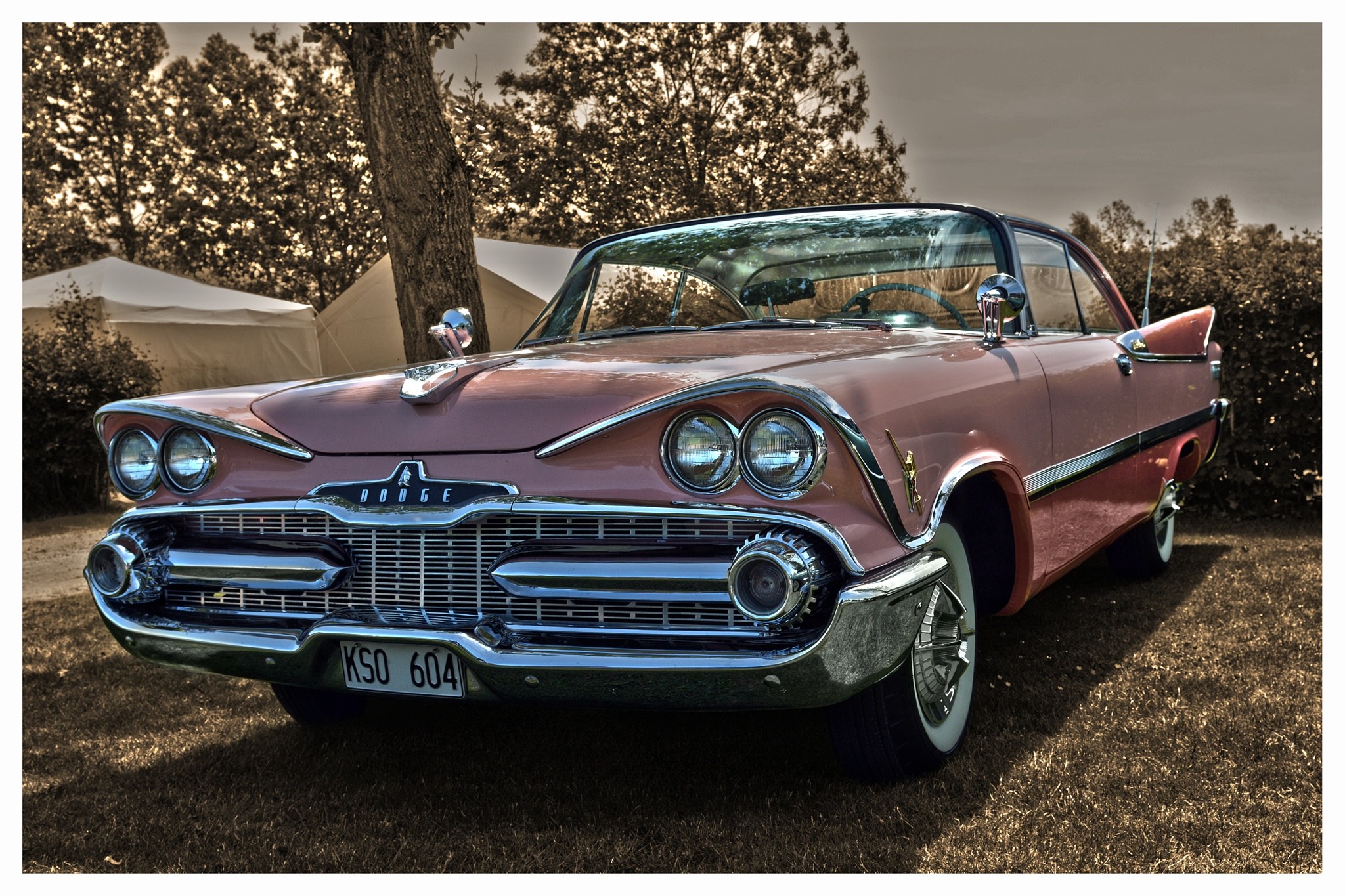 1959 Dodge Custom Royal by Linda Persson