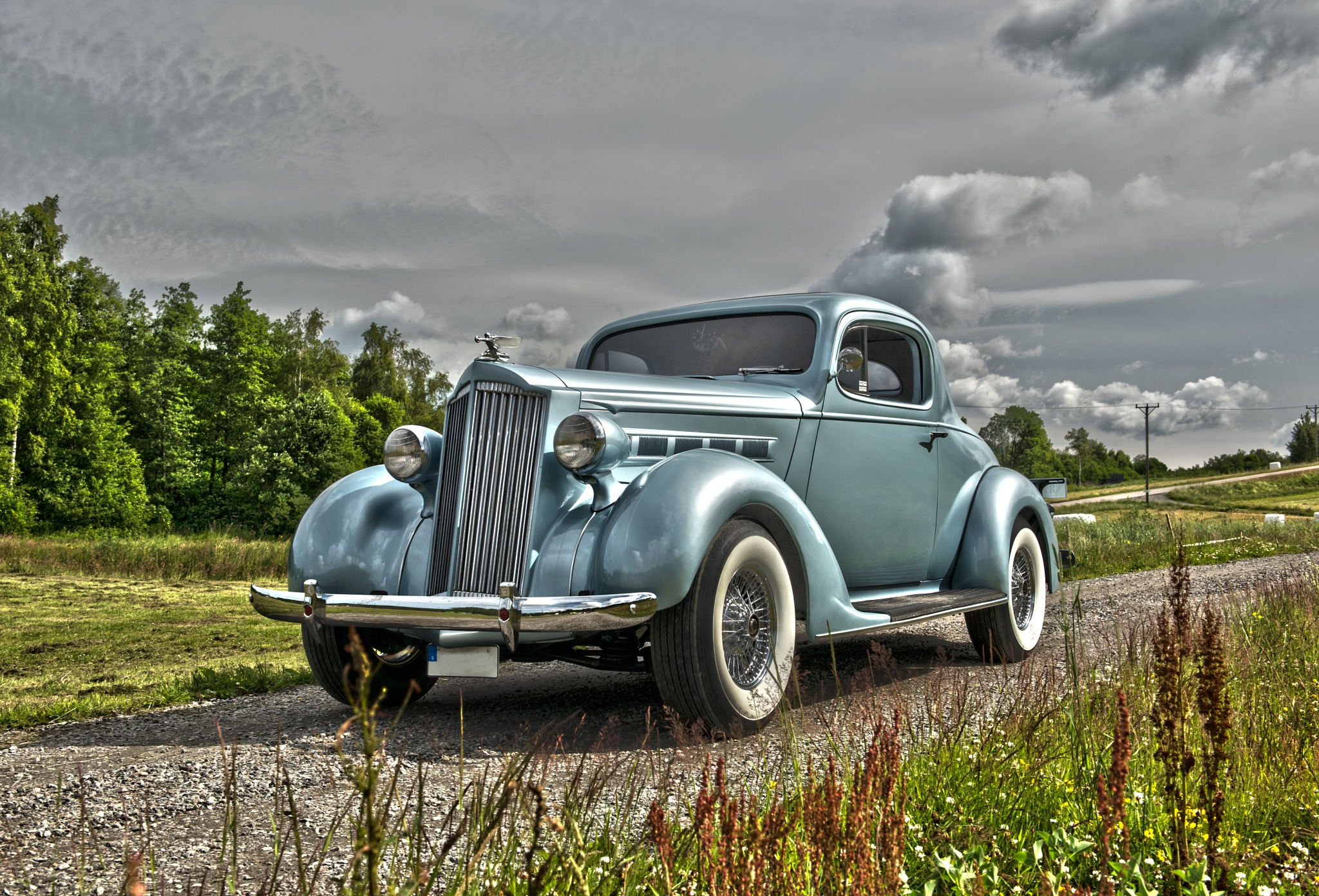 1937 Packard by Linda Persson