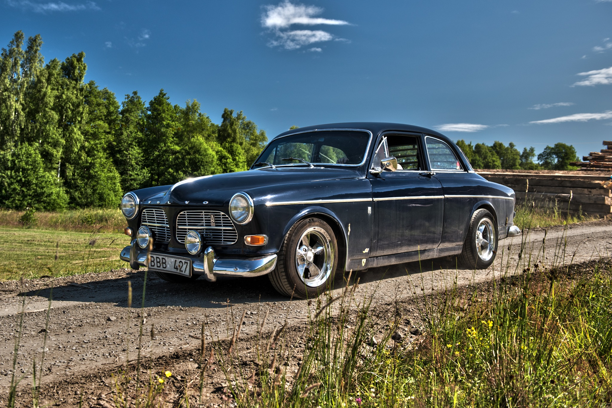 1967 Volvo Amazon by Linda Persson