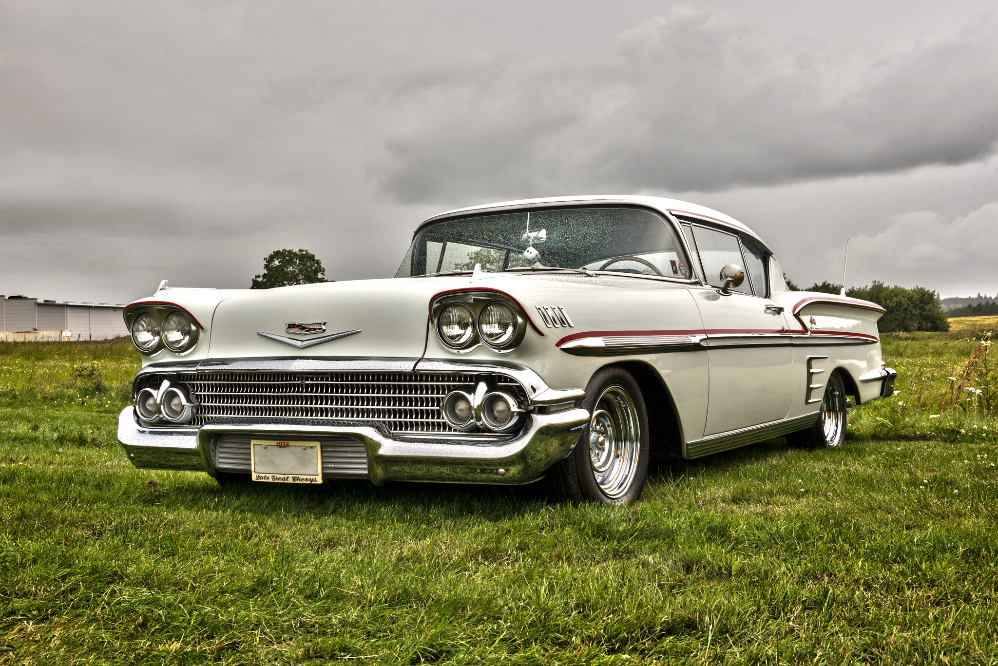1958 Chevrolet Impala by Linda Persson