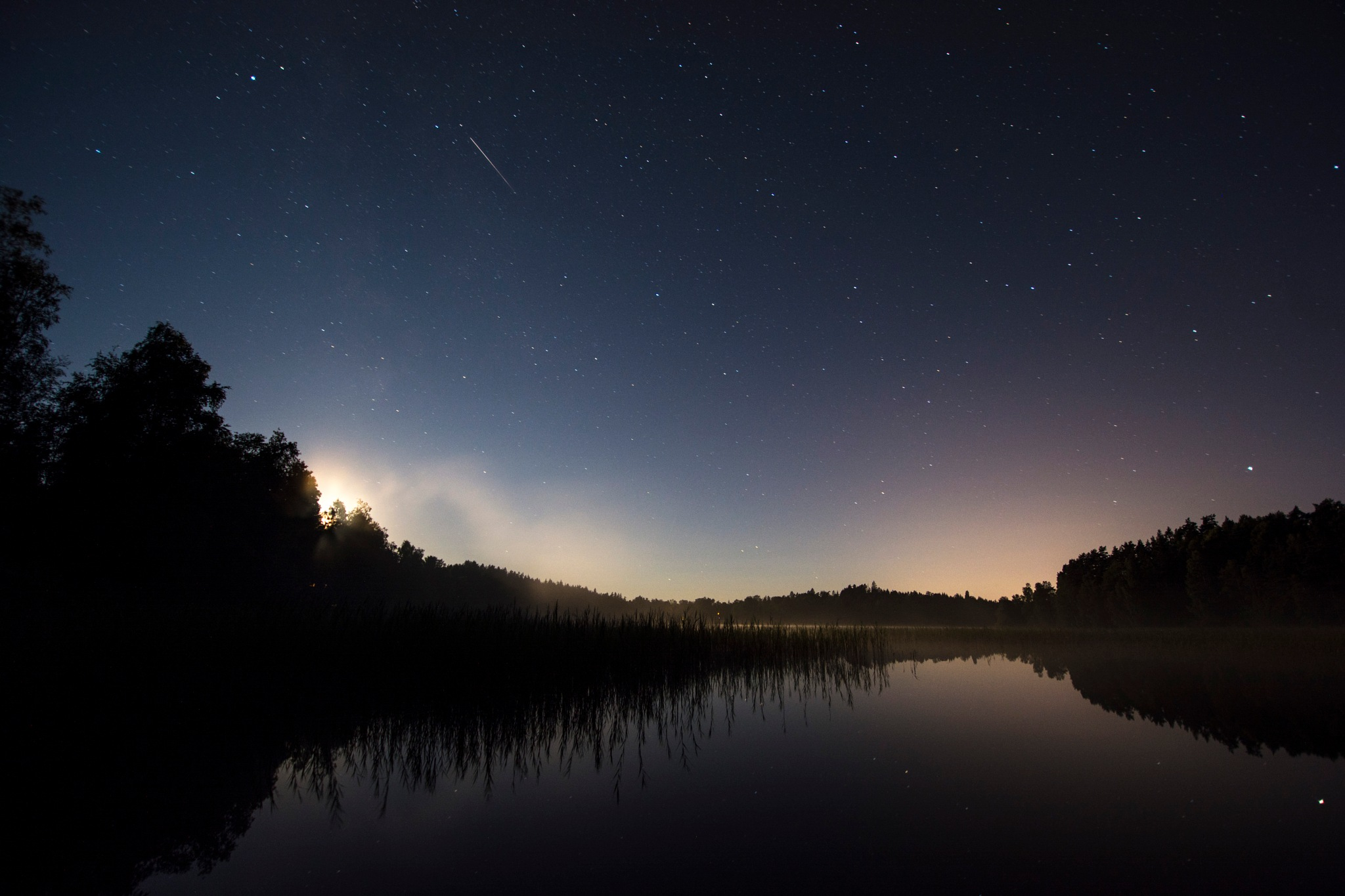 The last of the Perseids by Linda Persson