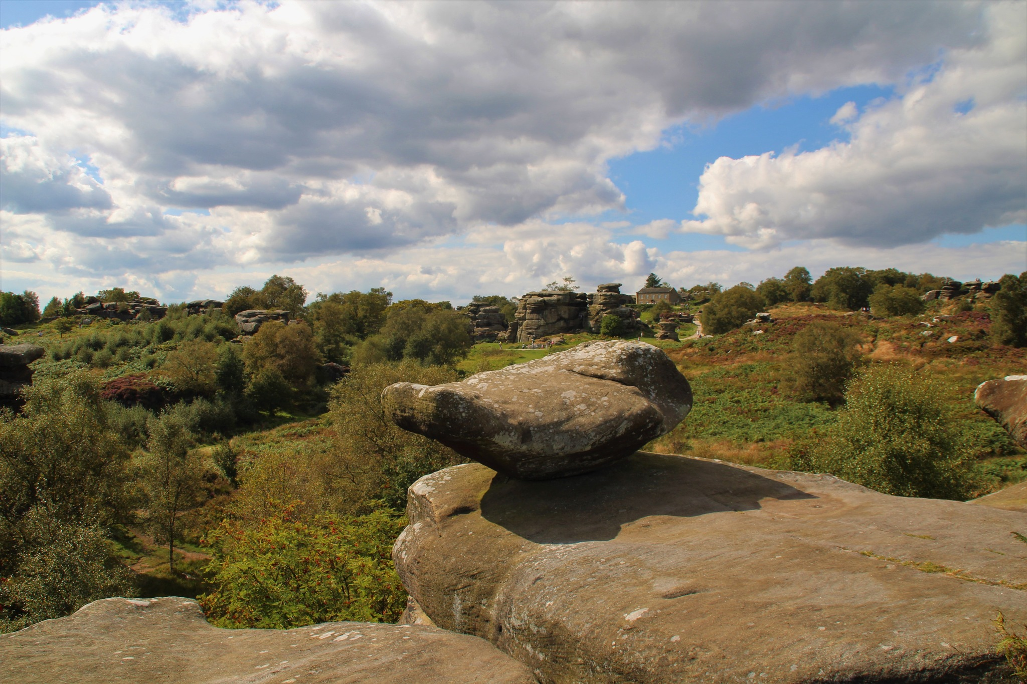 Brimham Rocks, natural sculpture by alijhawkins