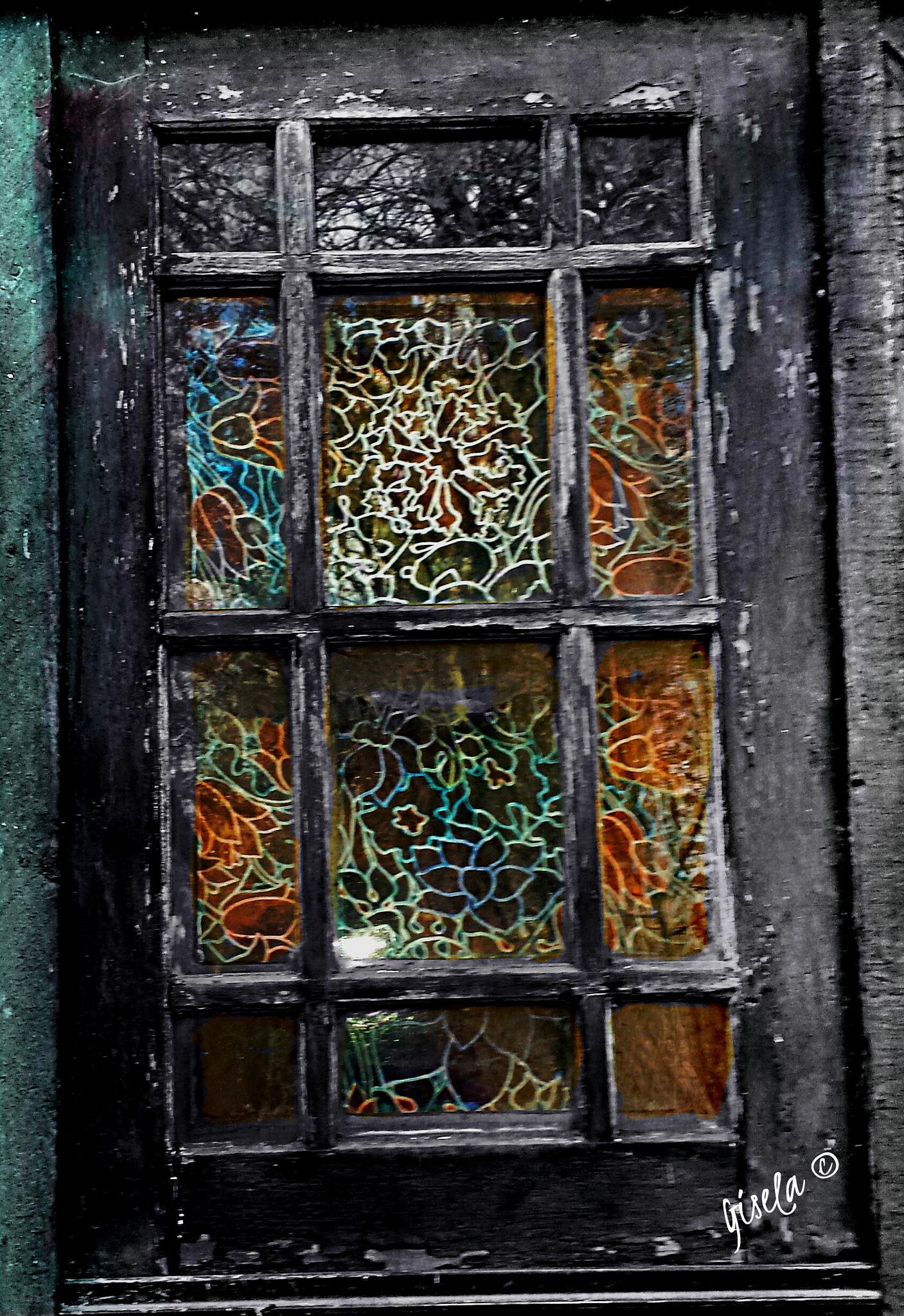 The window from the past by Gisela Tenggren