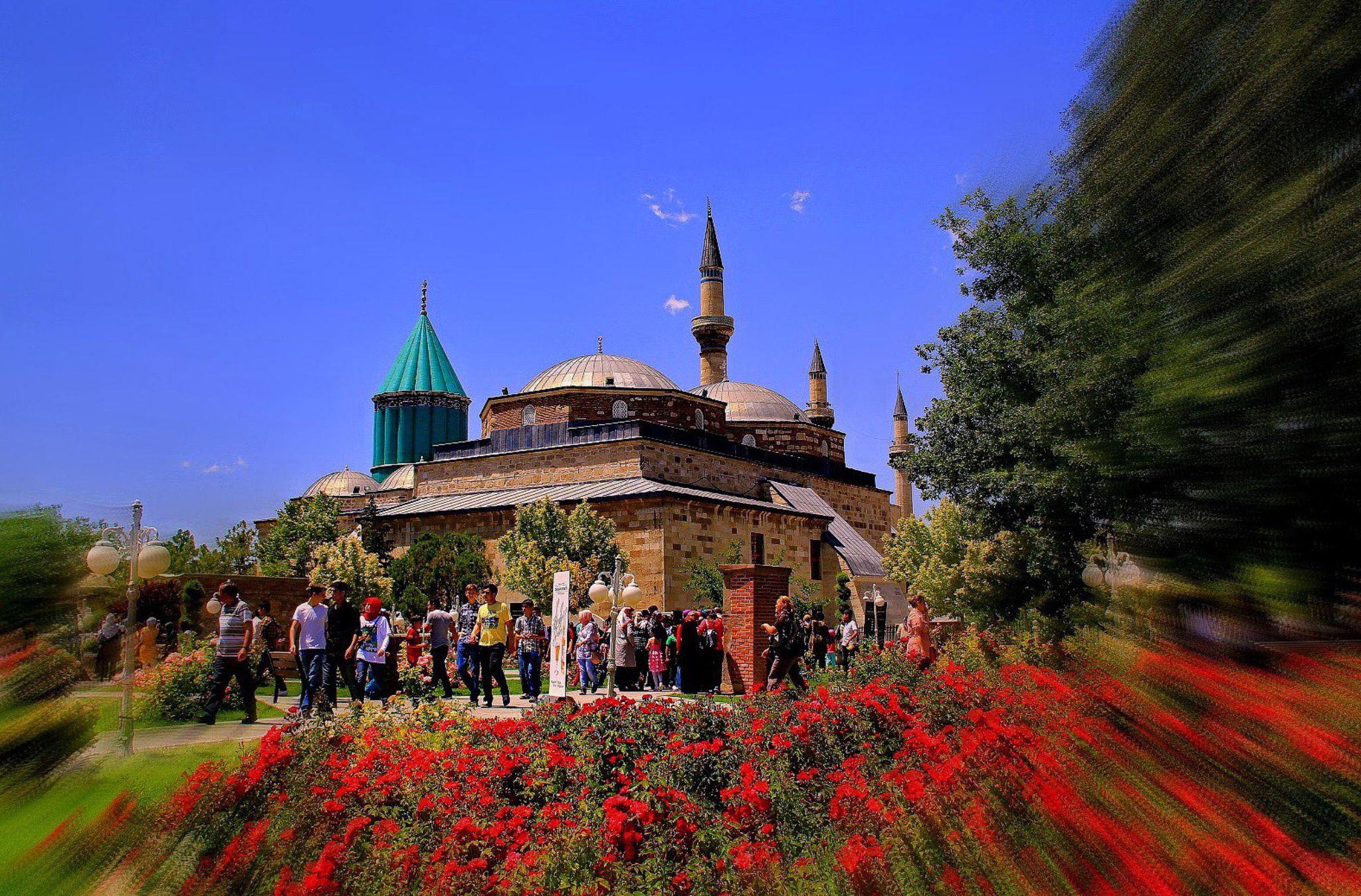 Mevlana Tomb - konya-turkey by atak1