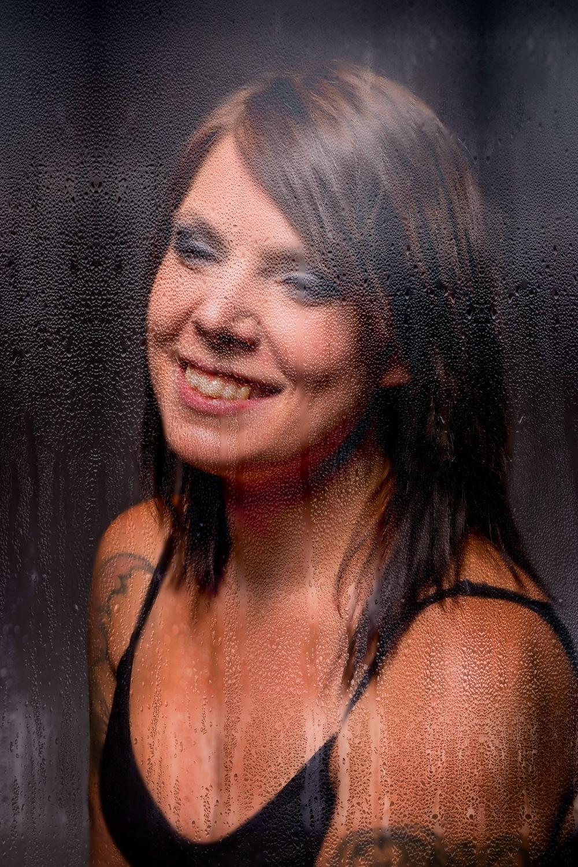 Through a wet window by Patrik Kjellberg