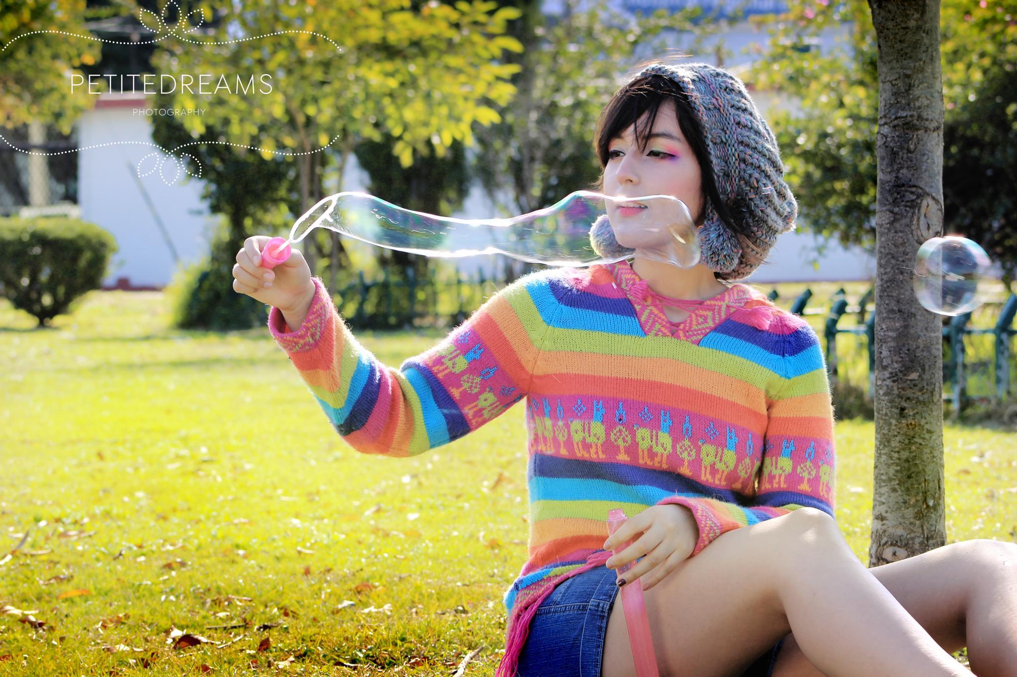 Rainbow Bubble! by ITZARELY HEYWONG