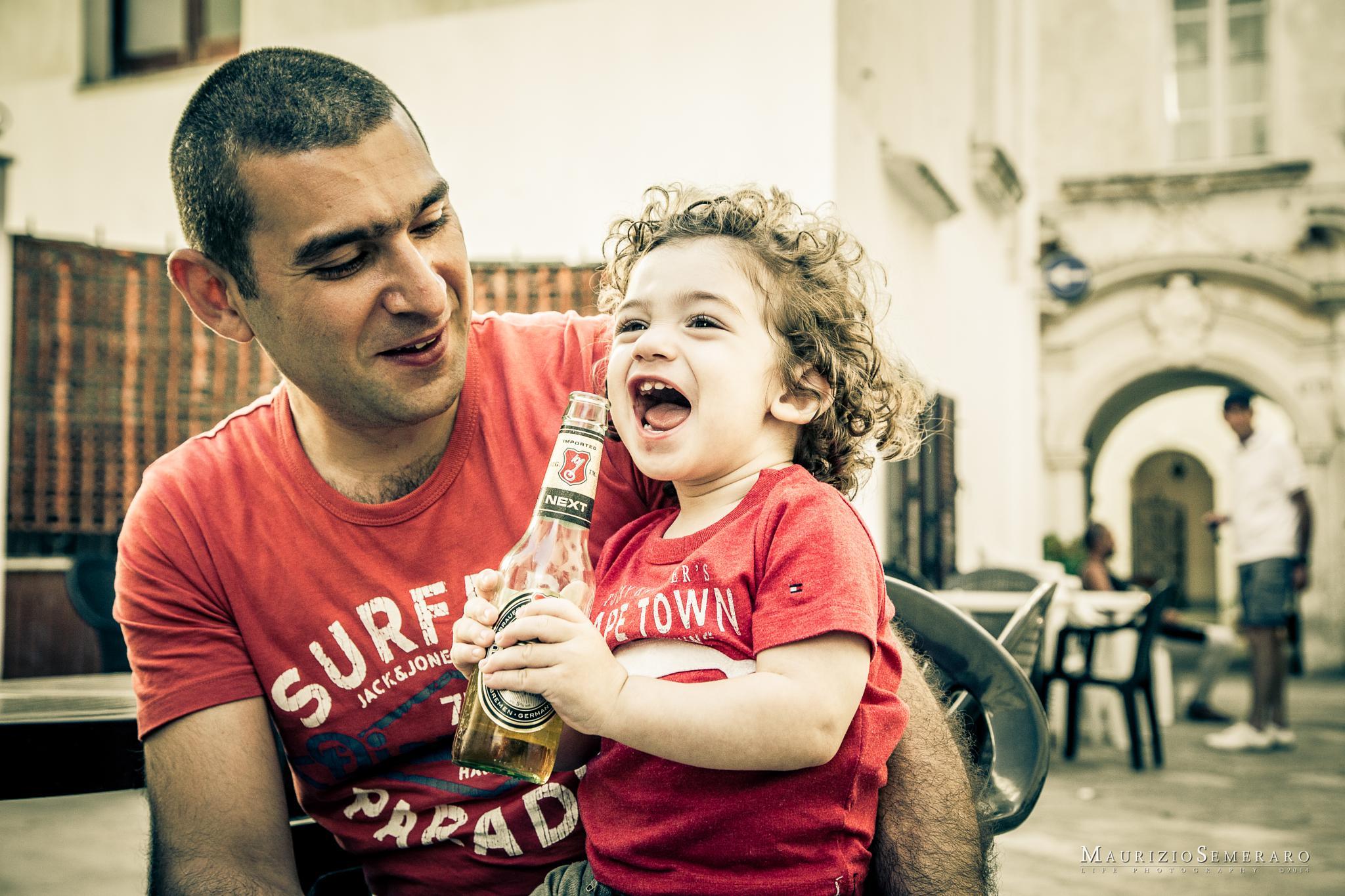 Finally a beer! by Maurizio Semeraro