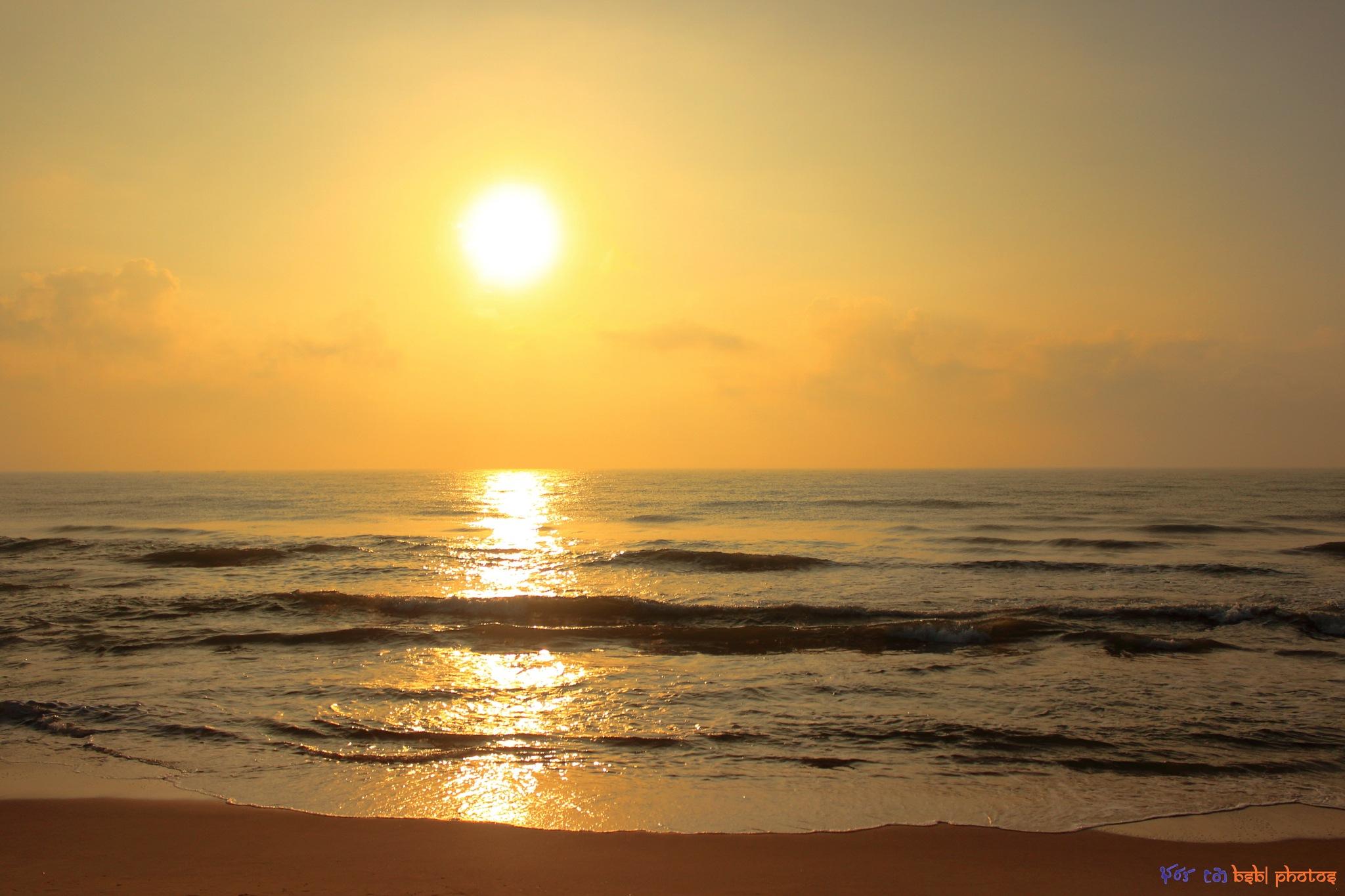 Golden Sunrise by Bharath Bhatt