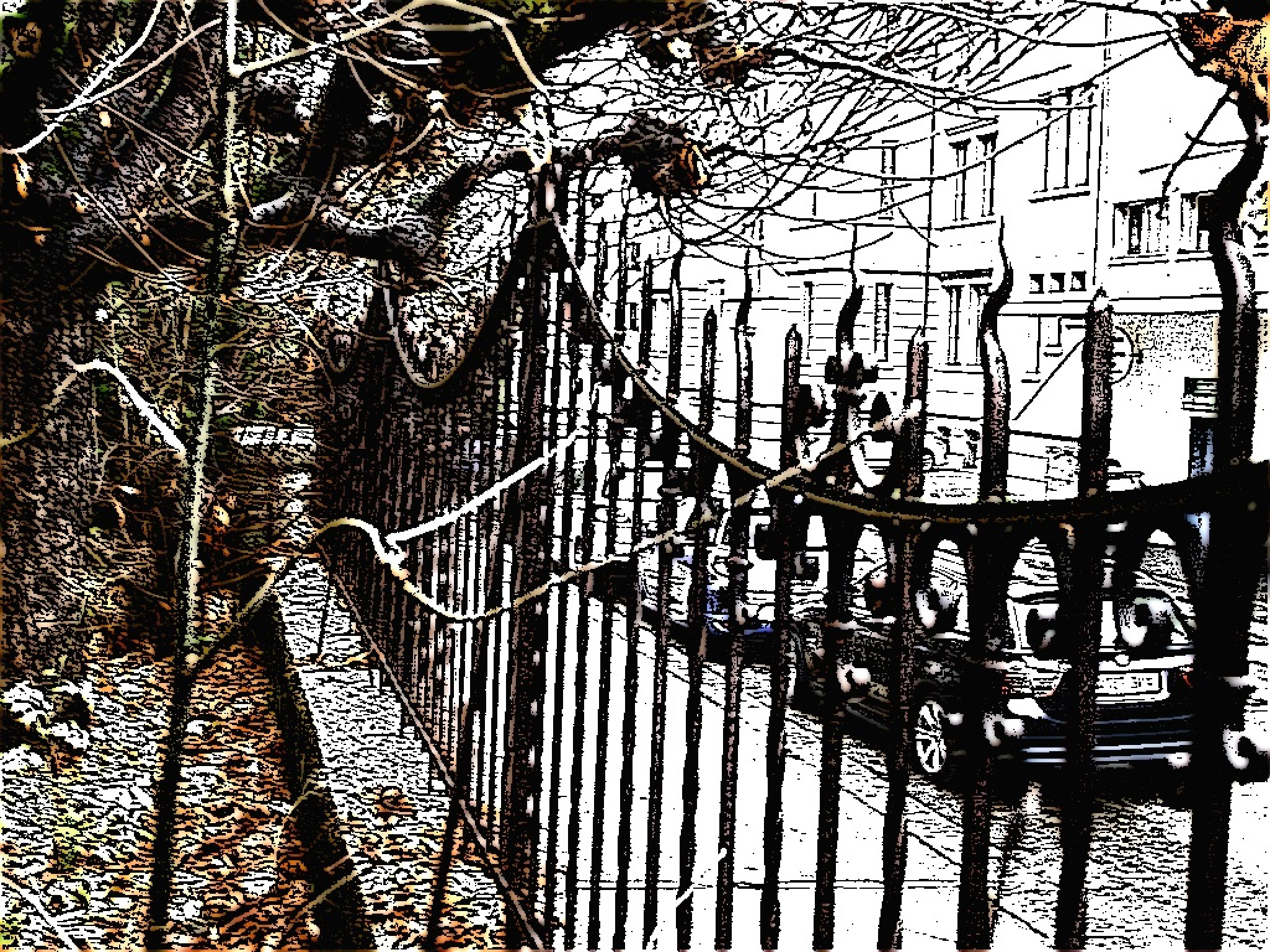 Crafts I want to honor with this wrought iron fence! by Andre RAMSEYER