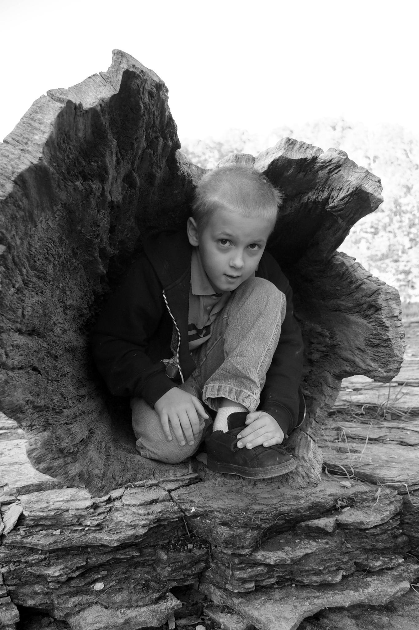 Tree Boy by DerbyCityImagery