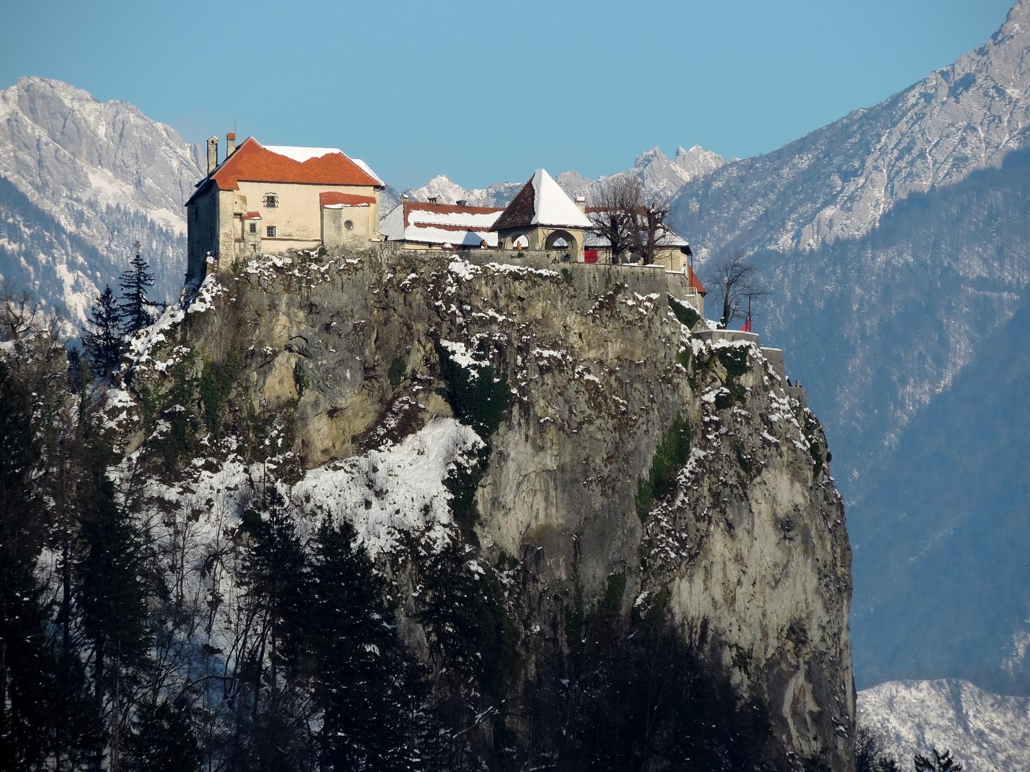 Cold morning in Bled by Egon Cokan