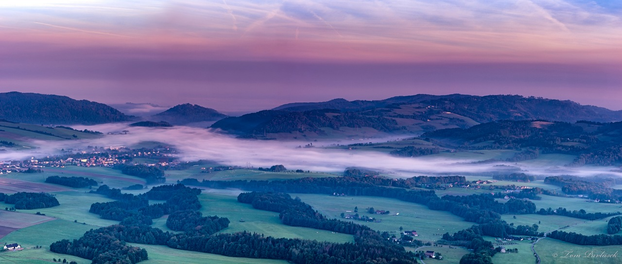 Landscape morning by tompavlas