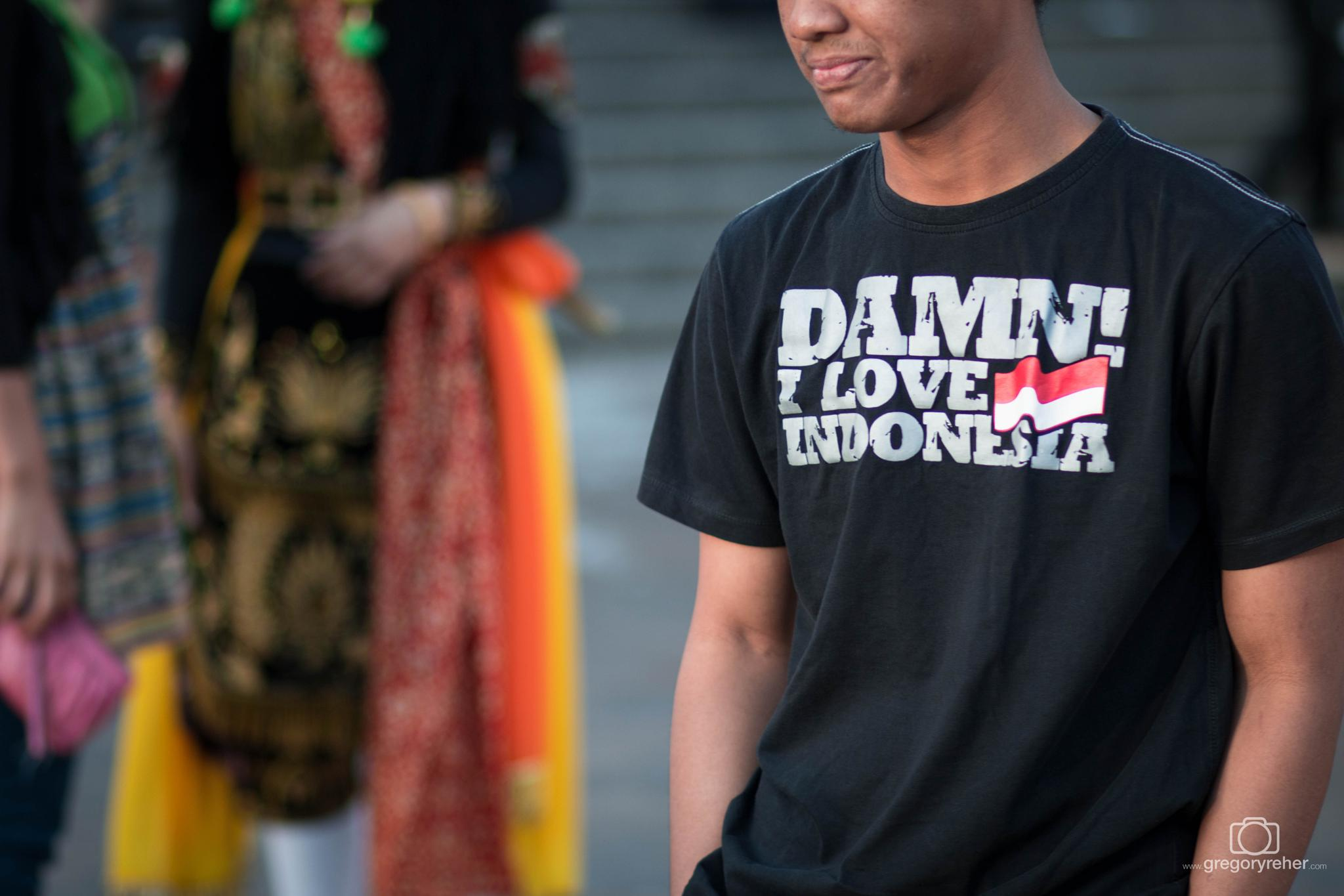 Damn, I Love Indonesia by gregreher