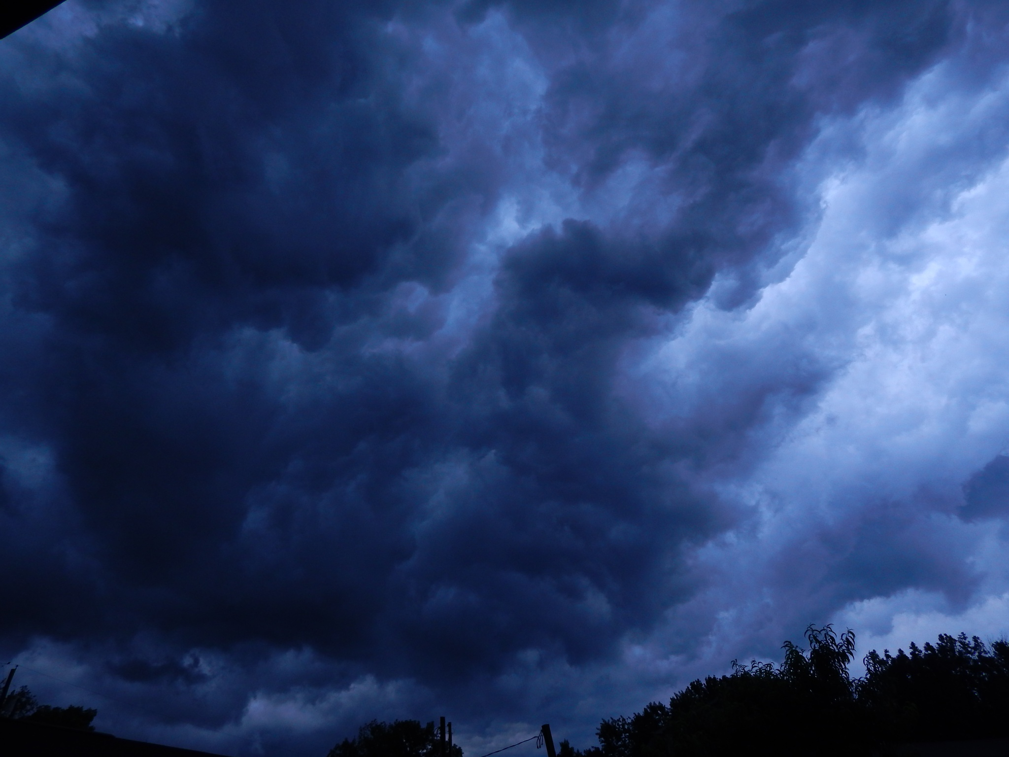 Angry Skies by Maria Metheny