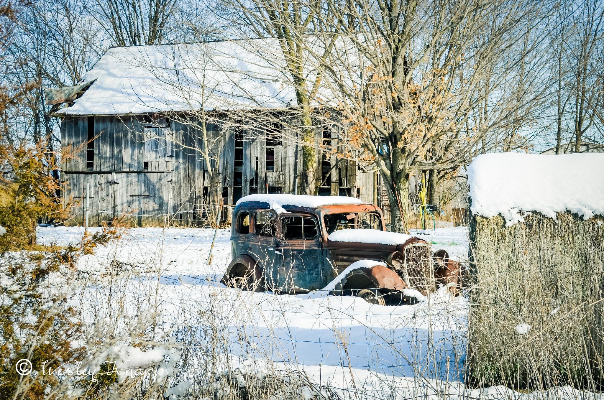 Many a winter by Wesley Knapp