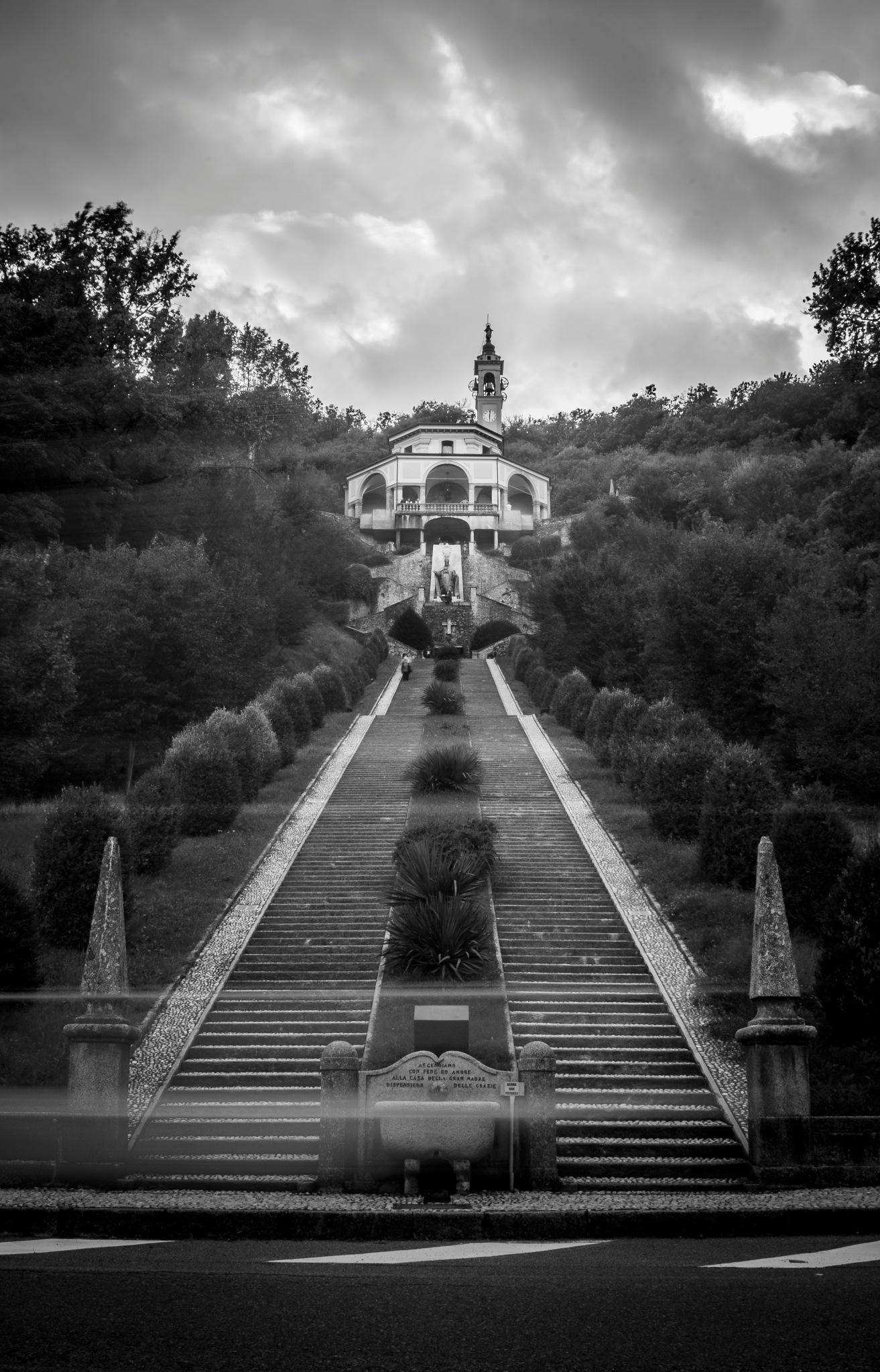 Madonna del Bosco sanctuary by Mauro Gigli