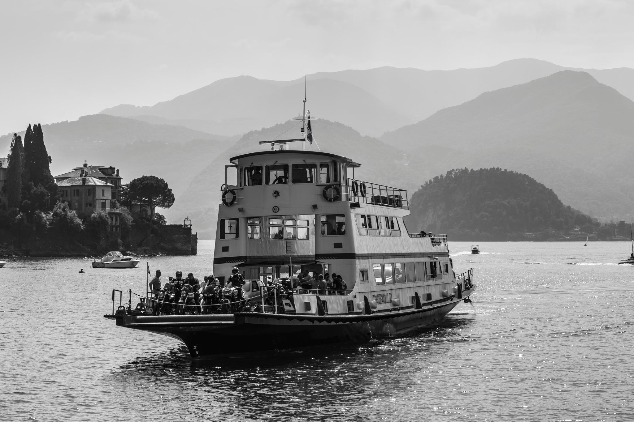 ferry boat by Mauro Gigli