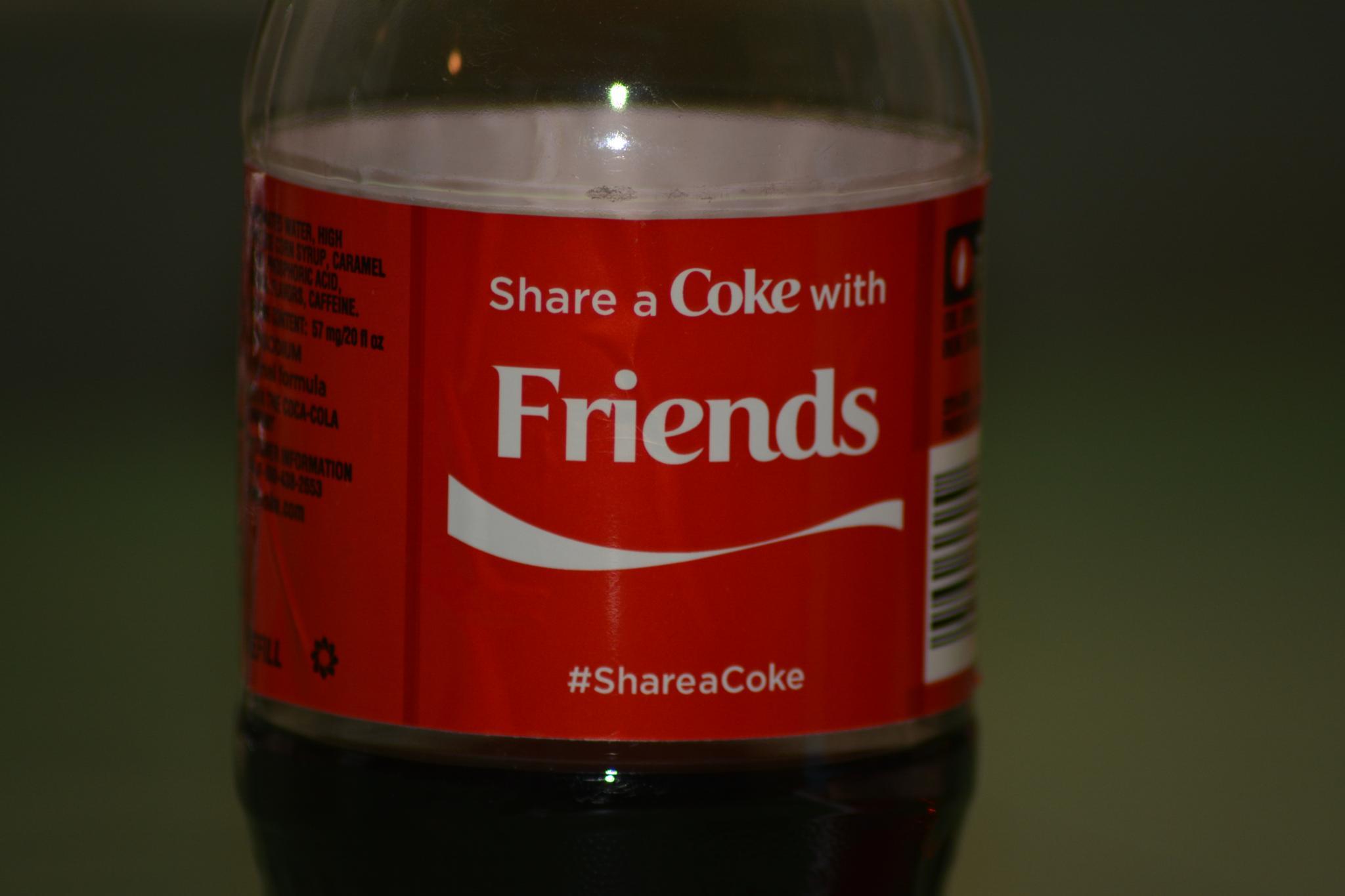 Photo in Still Life #coke #shareacoke #friends