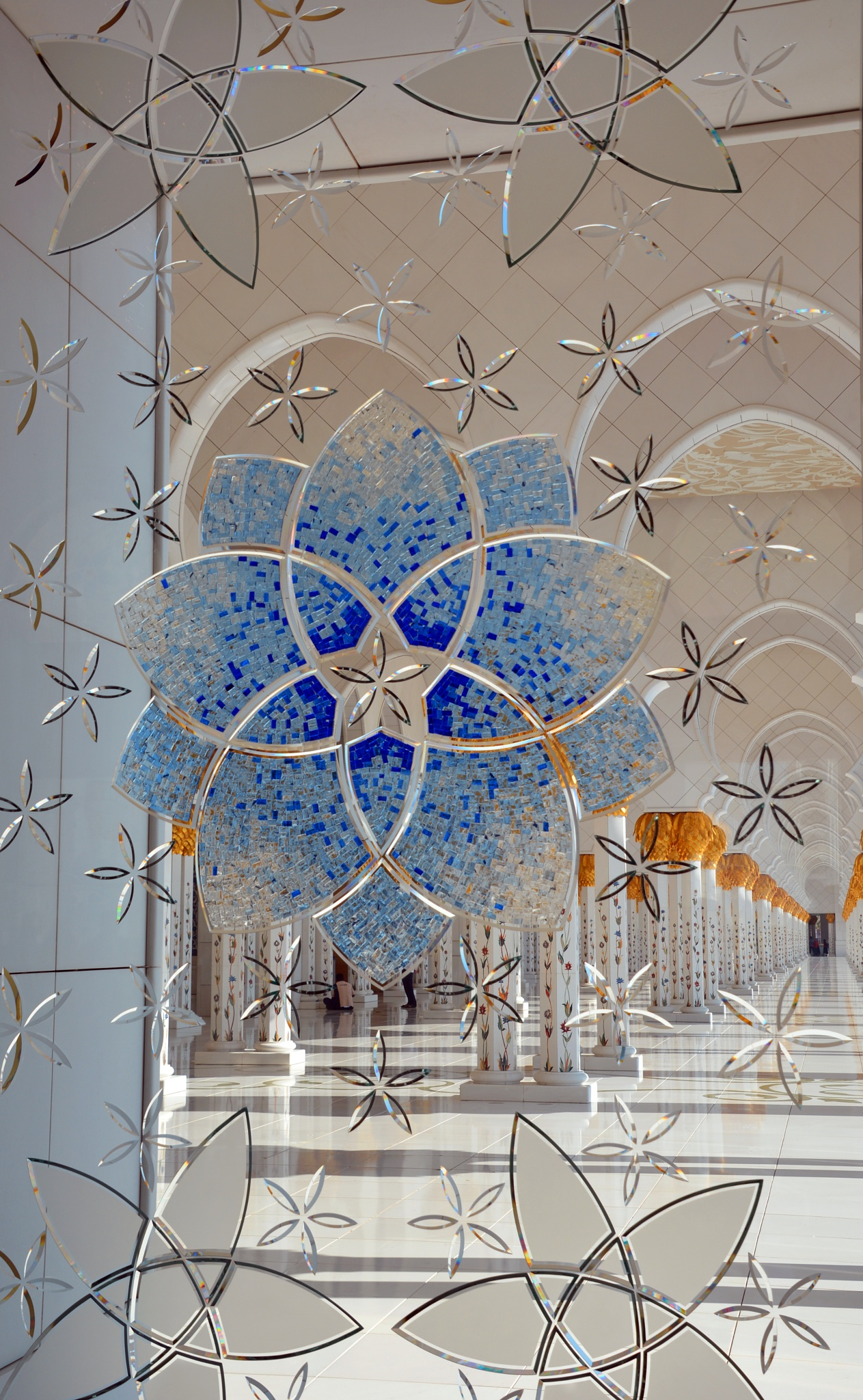 Abu Dhabi Mosque Window 2 by kelrey31